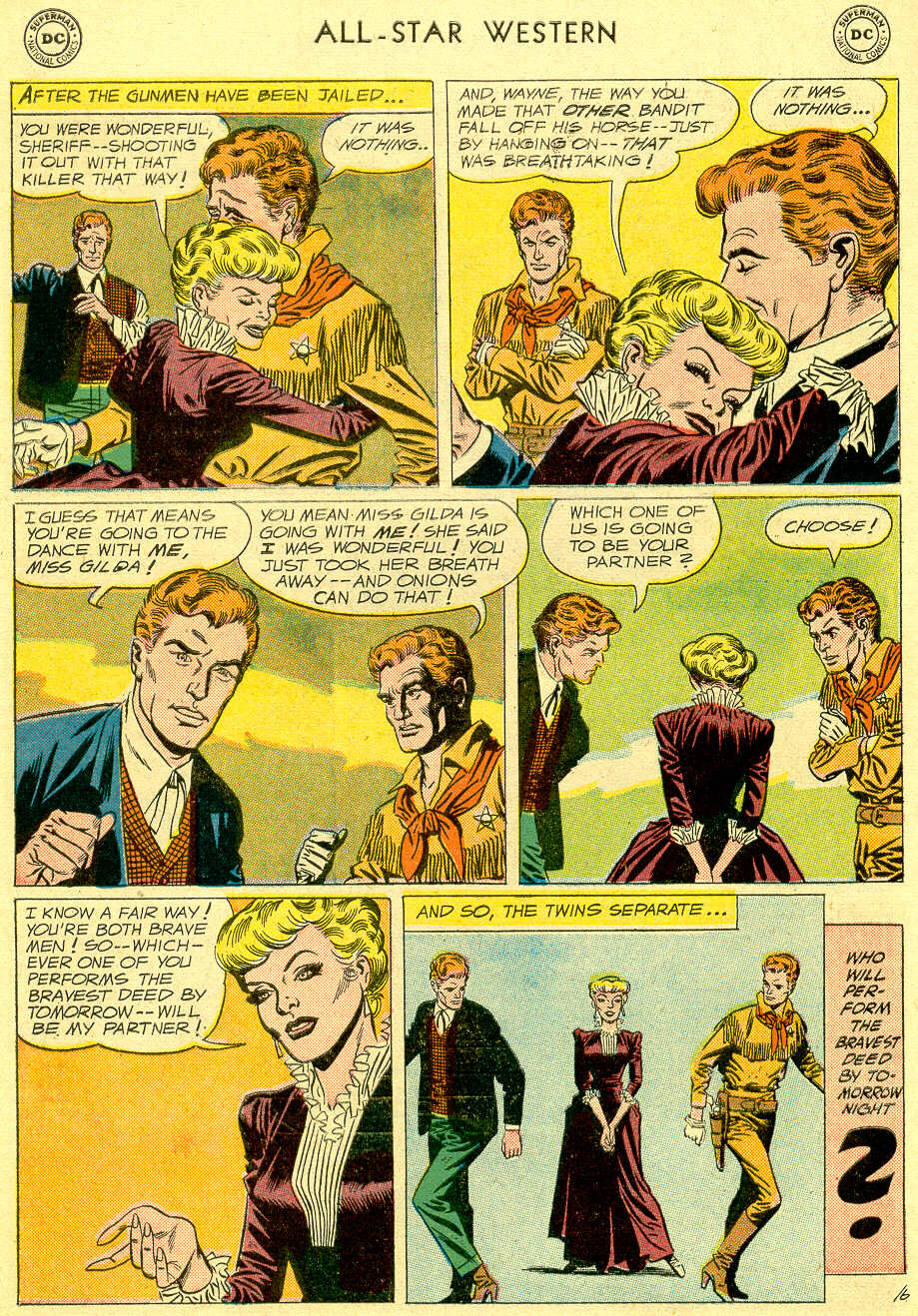 Read online All-Star Western (1951) comic -  Issue #103 - 8