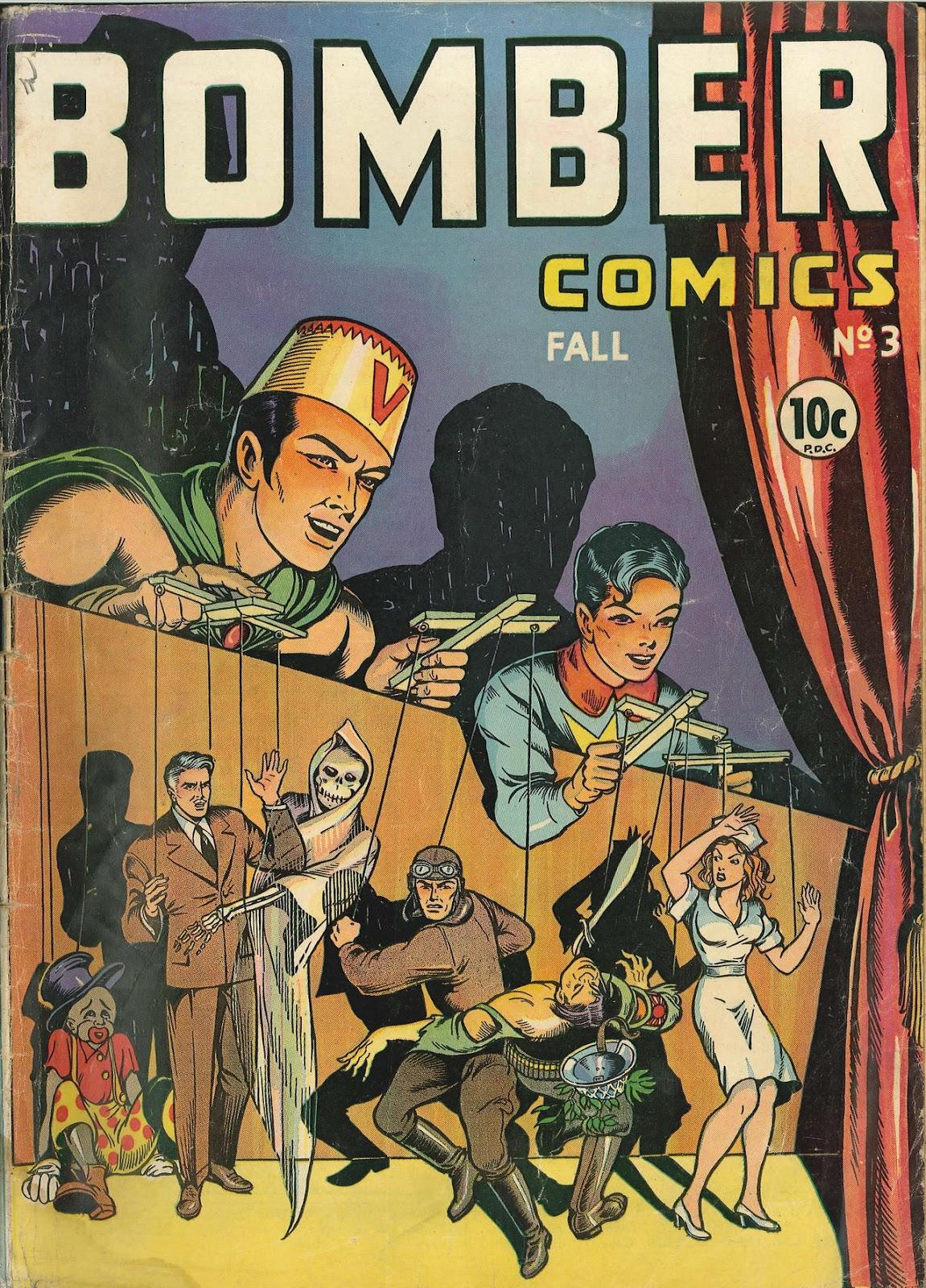 Bomber Comics 3 Page 1