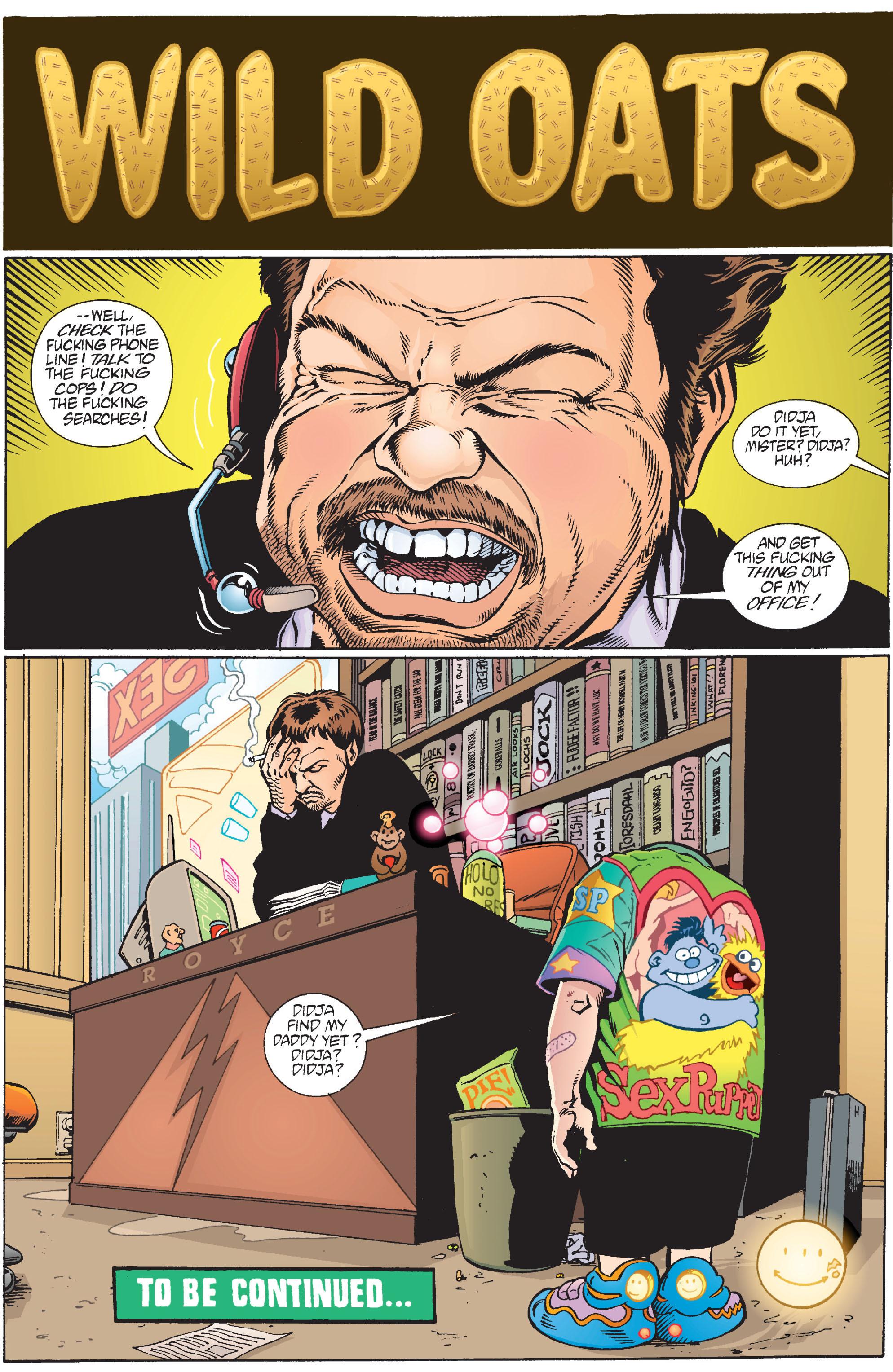 Read online Transmetropolitan comic -  Issue #10 - 23