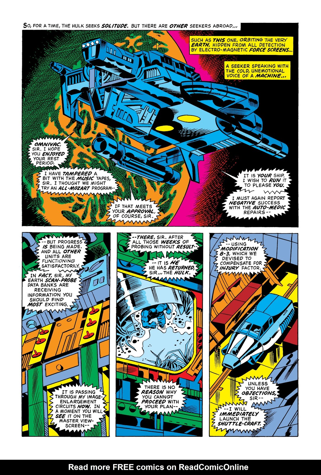 Read online Marvel Masterworks: The Incredible Hulk comic -  Issue # TPB 9 (Part 1) - 12