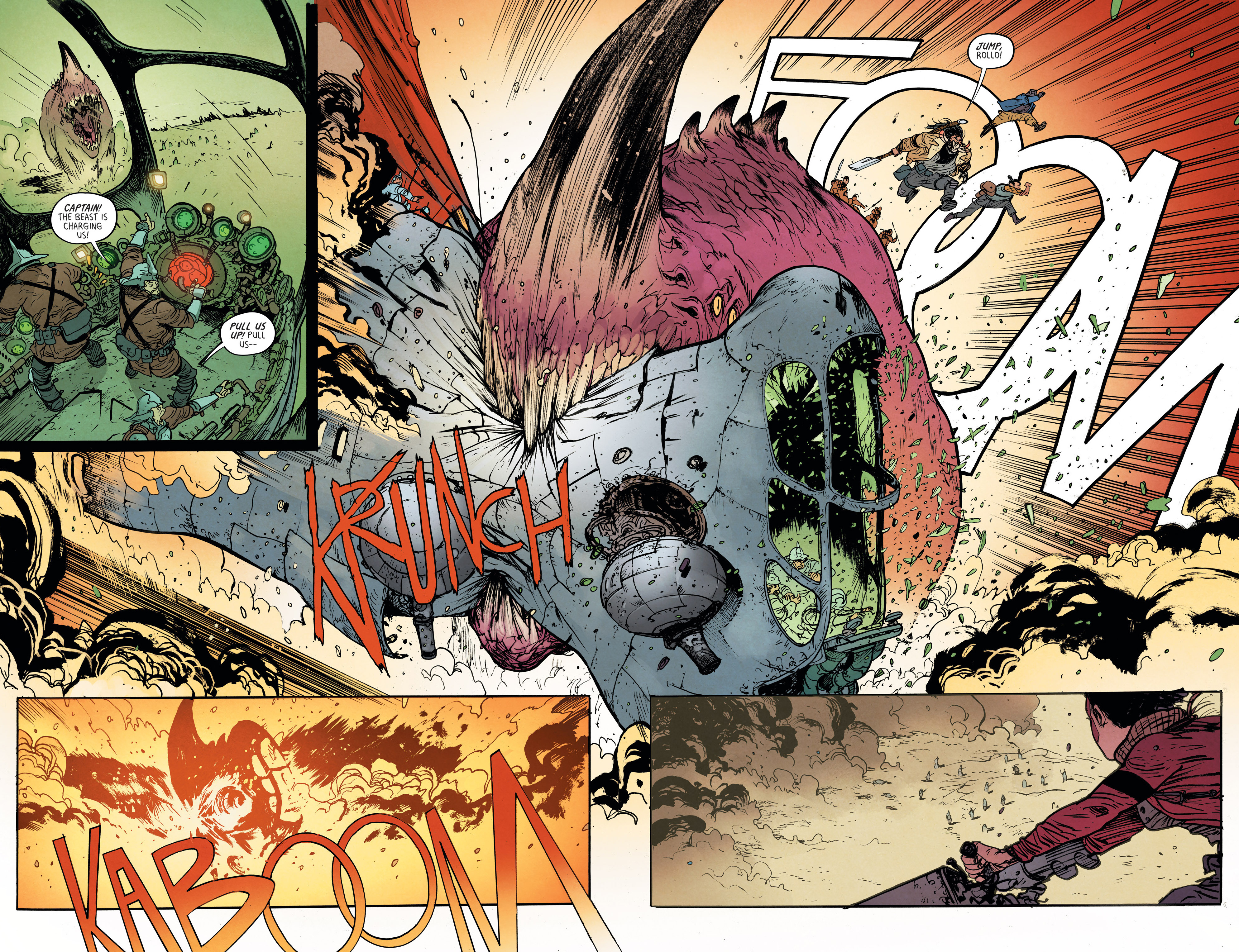 Read online Extremity comic -  Issue #3 - 14