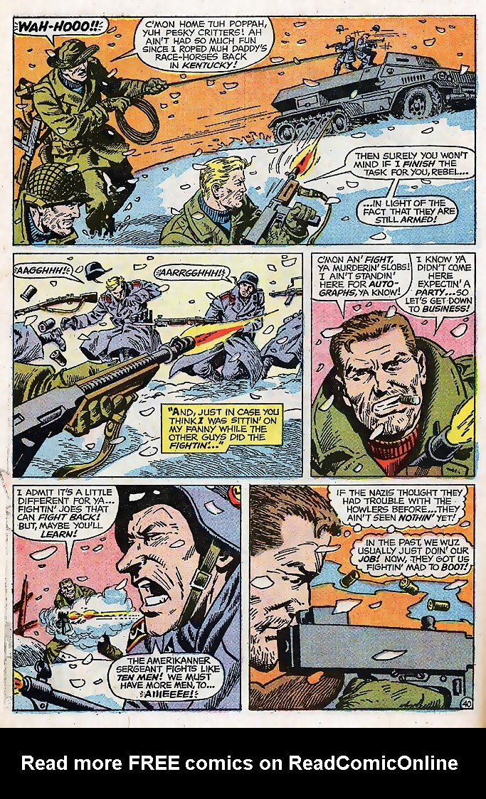 Read online Sgt. Fury comic -  Issue # _Special 4 - 50