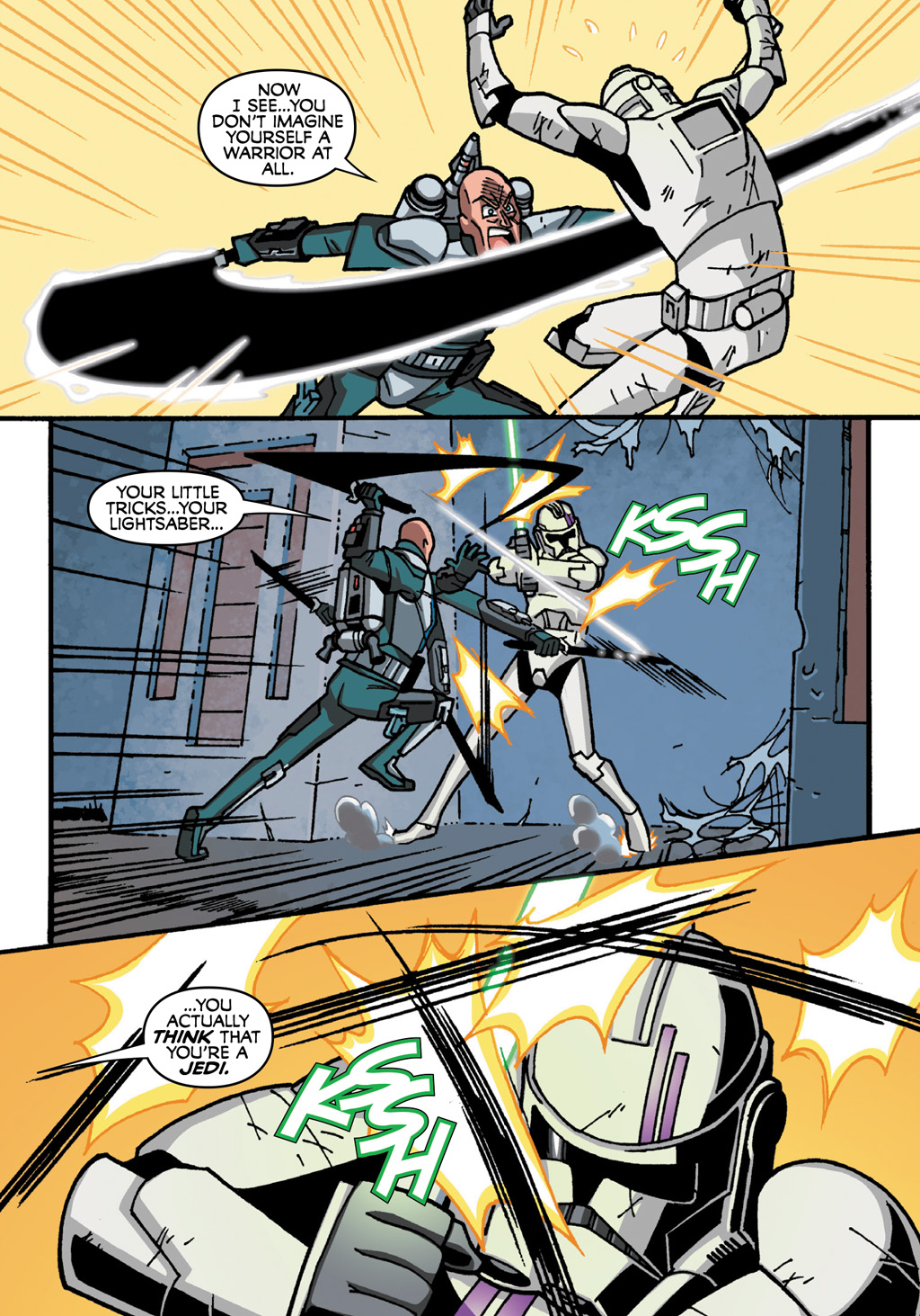 Read online Star Wars: The Clone Wars - Defenders of the Lost Temple comic -  Issue # Full - 63