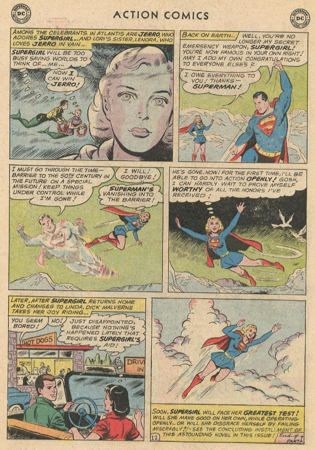 Read online Action Comics (1938) comic -  Issue #285 - 14