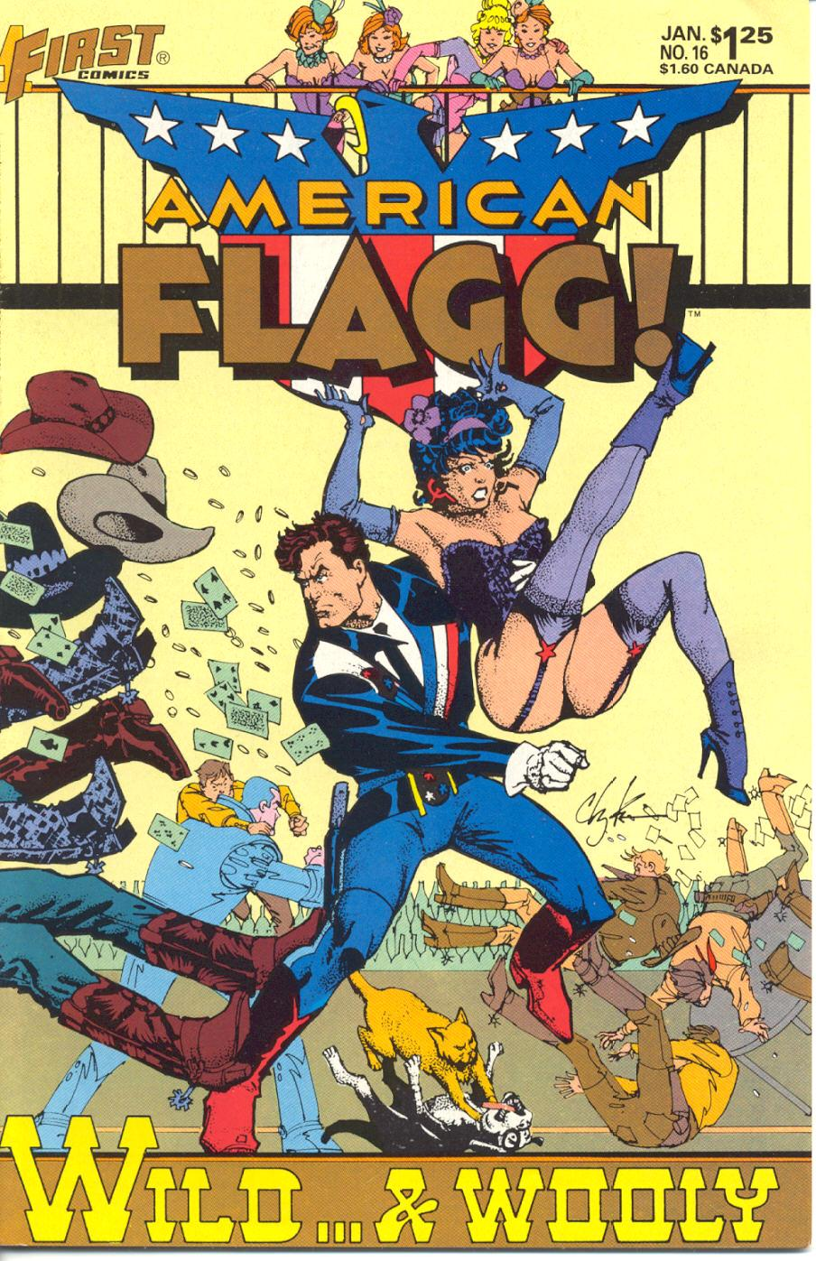 Read online American Flagg! comic -  Issue #16 - 1