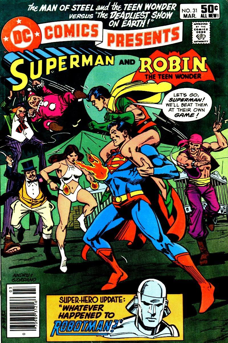 DC Comics Presents (1978) 31 Page 1