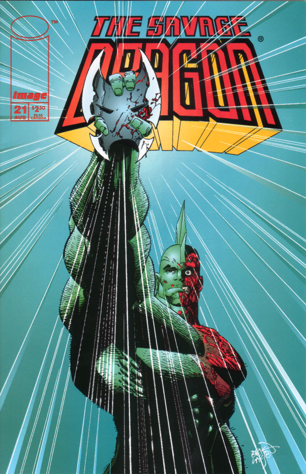 The Savage Dragon (1993) Issue #21 #24 - English 2