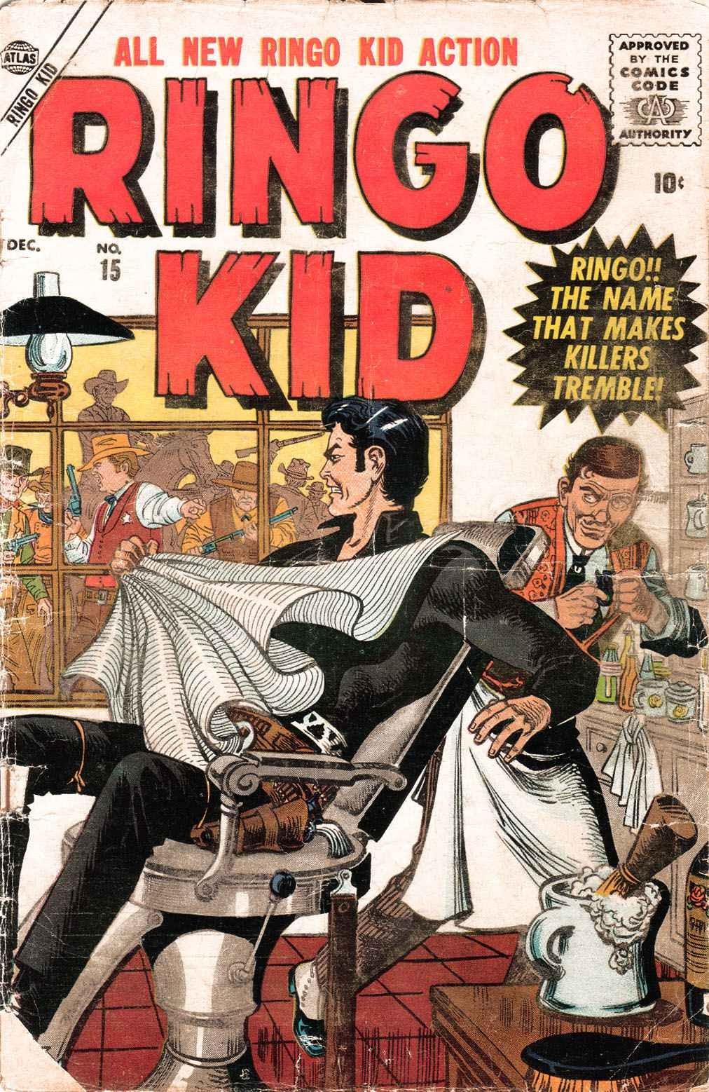Ringo Kid 15 Page 1