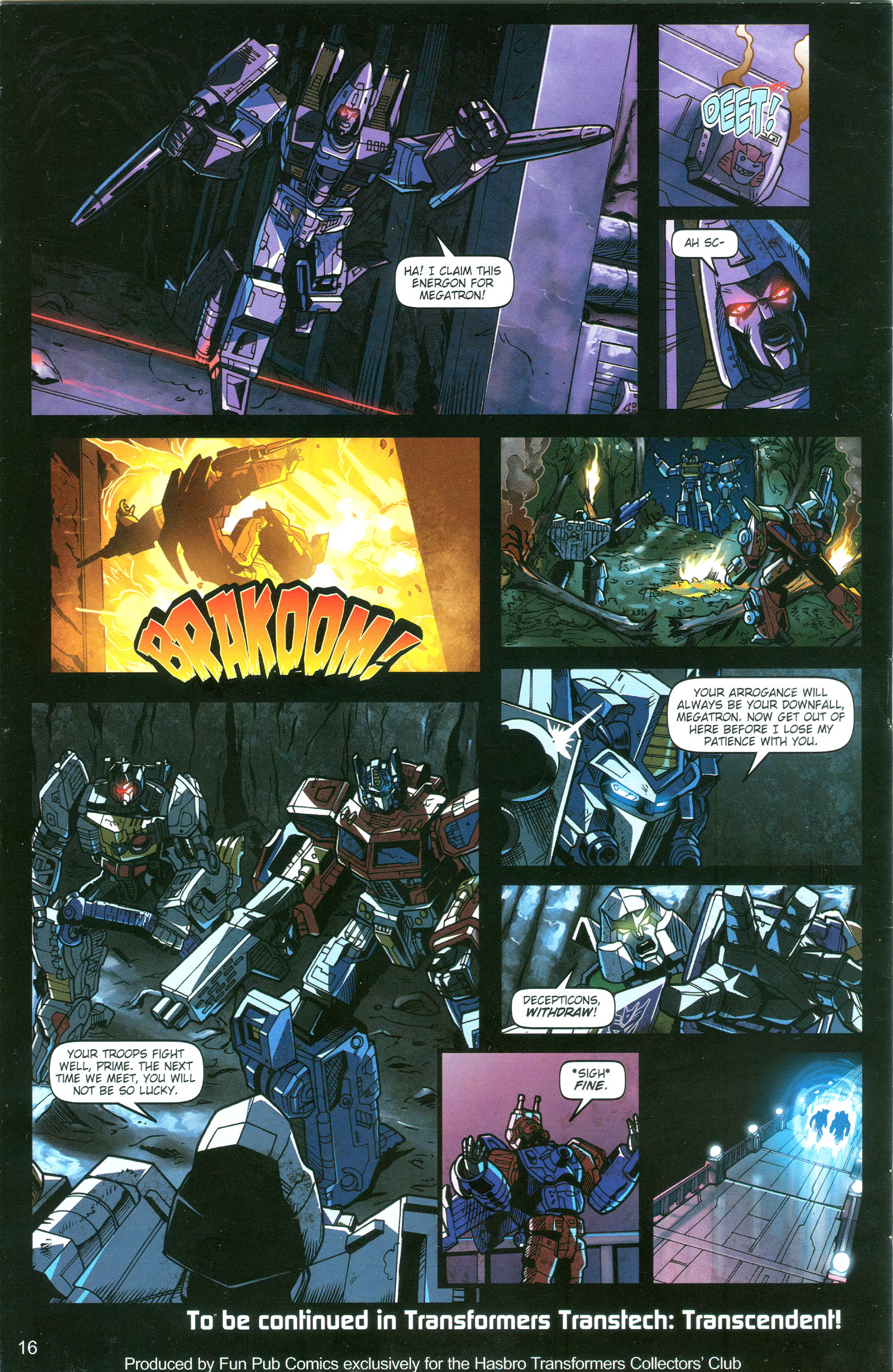 Read online Transformers: Collectors' Club comic -  Issue #18 - 16