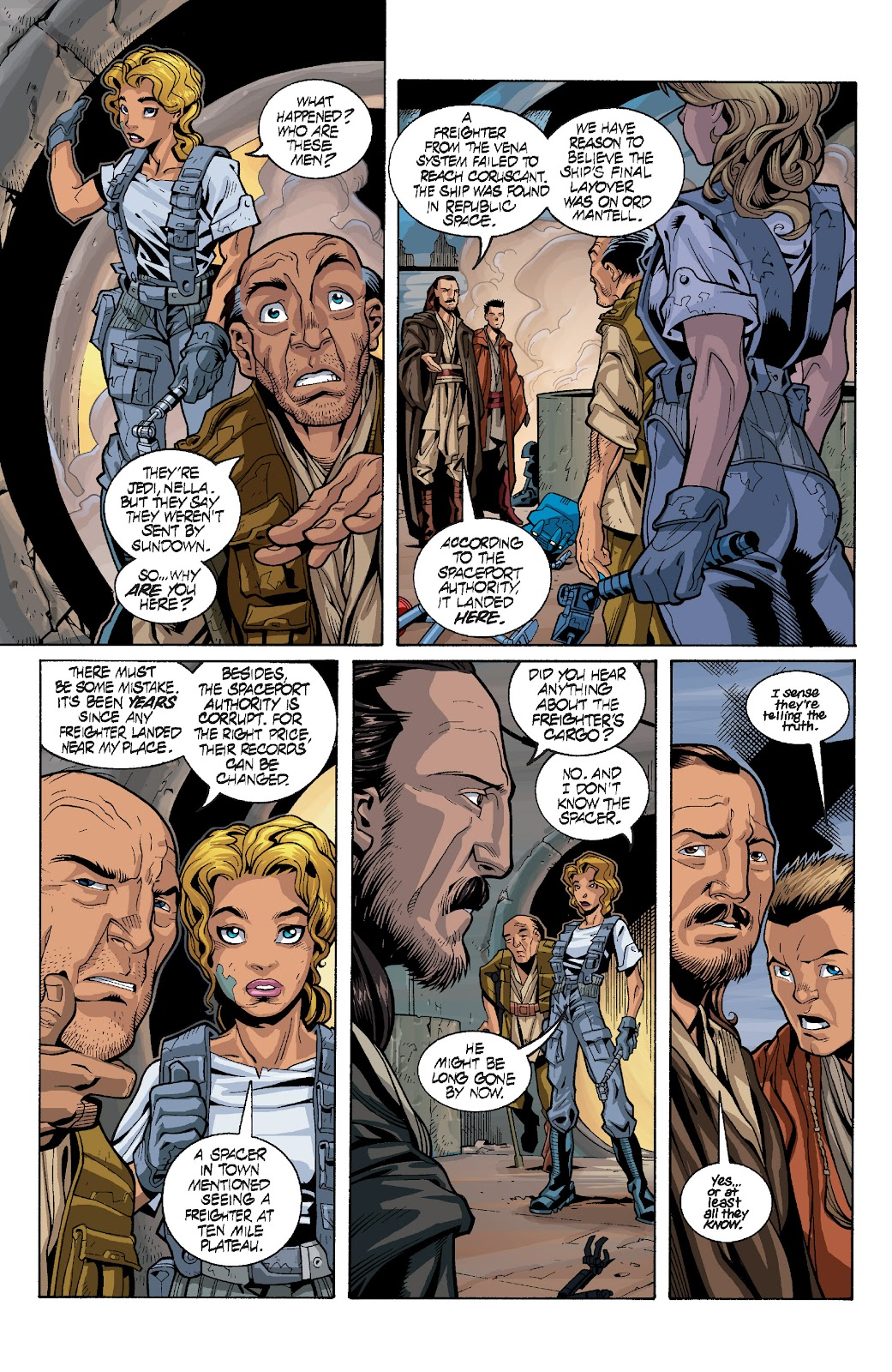 Read online Star Wars Legends: Rise of the Sith - Epic Collection comic -  Issue # TPB 1 (Part 4) - 1