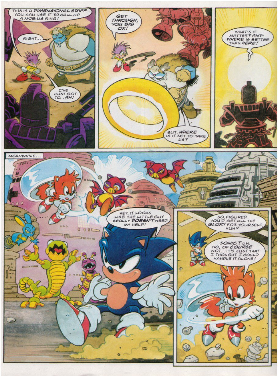 Read online Sonic the Comic comic -  Issue #121 - 6