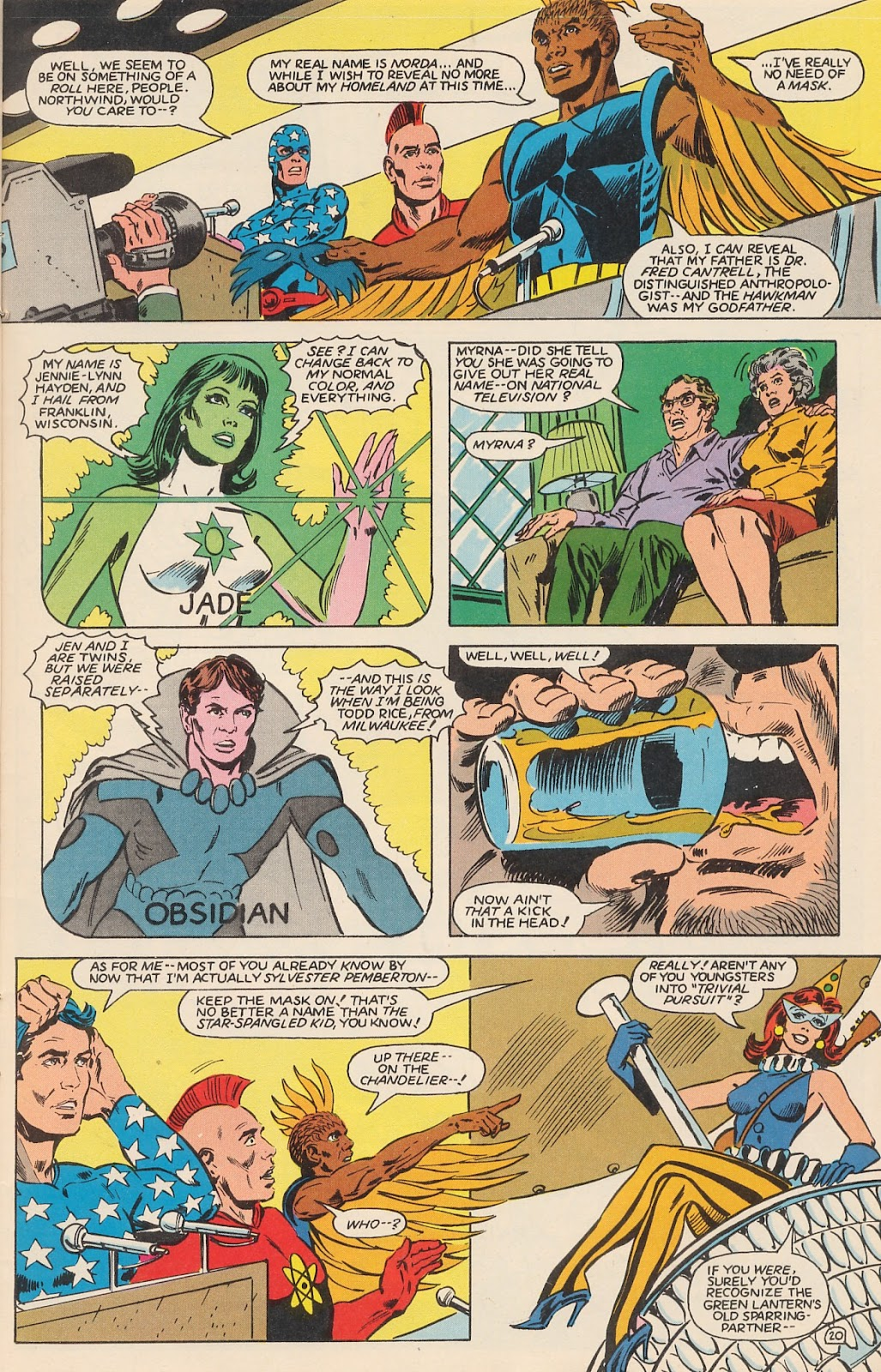Infinity Inc. (1984) issue 12 - Page 26