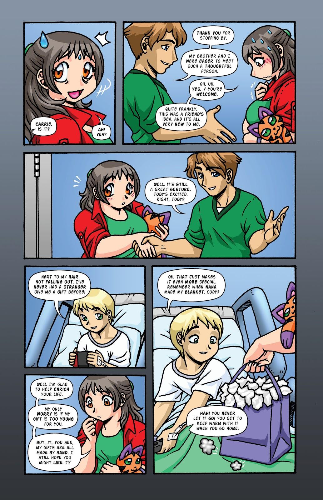 Read online Plush comic -  Issue #2 - 16
