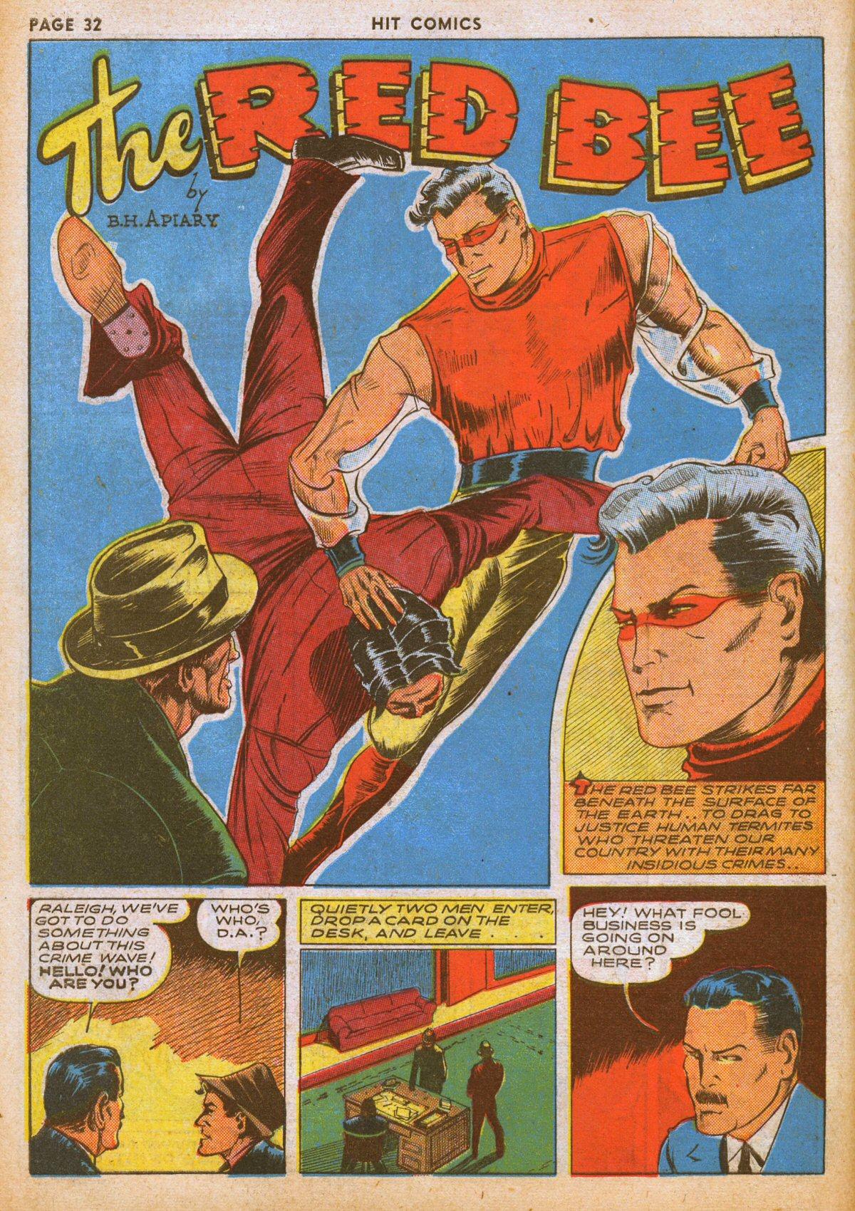 Read online Hit Comics comic -  Issue #12 - 34