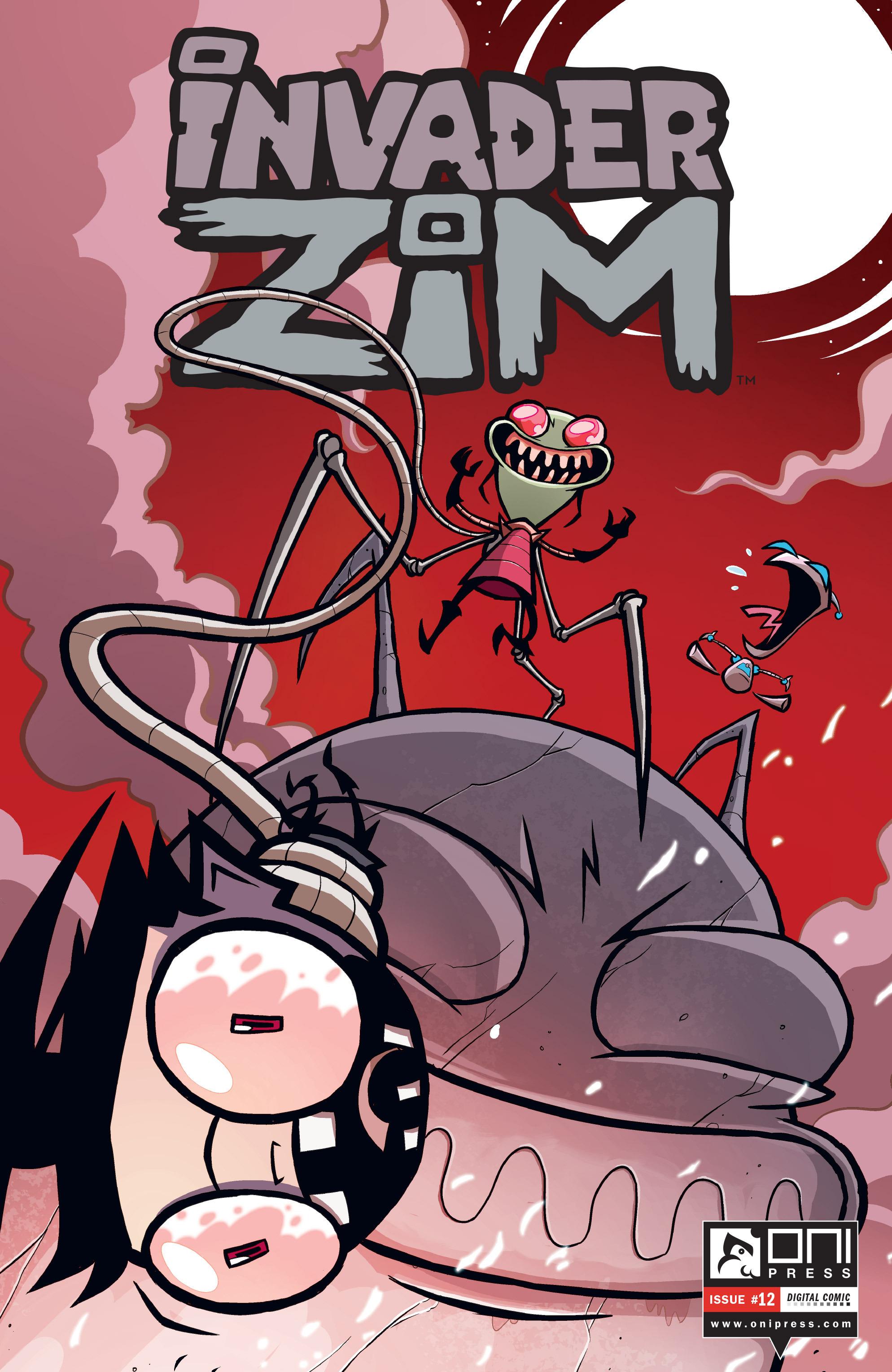 Invader Zim 12 Page 1