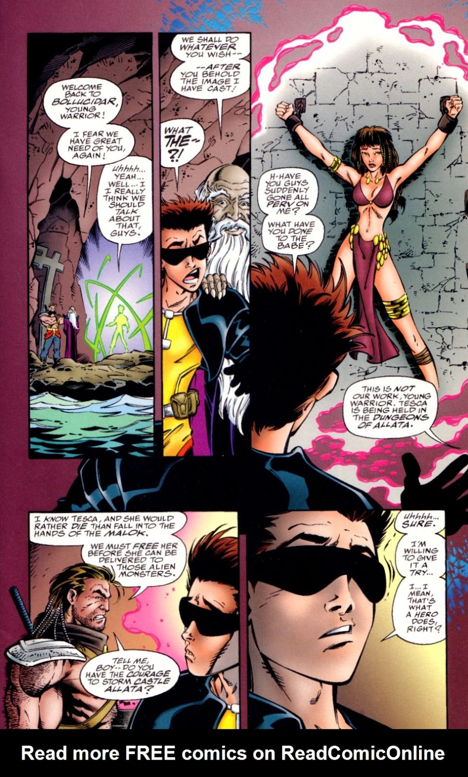 Read online Randy O'Donnell is The M@N comic -  Issue #2 - 8