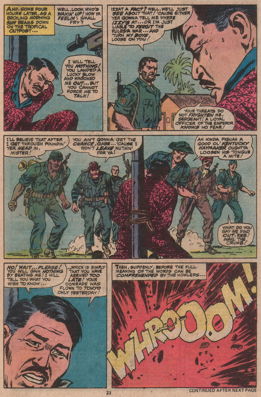 Read online Sgt. Fury comic -  Issue #145 - 25