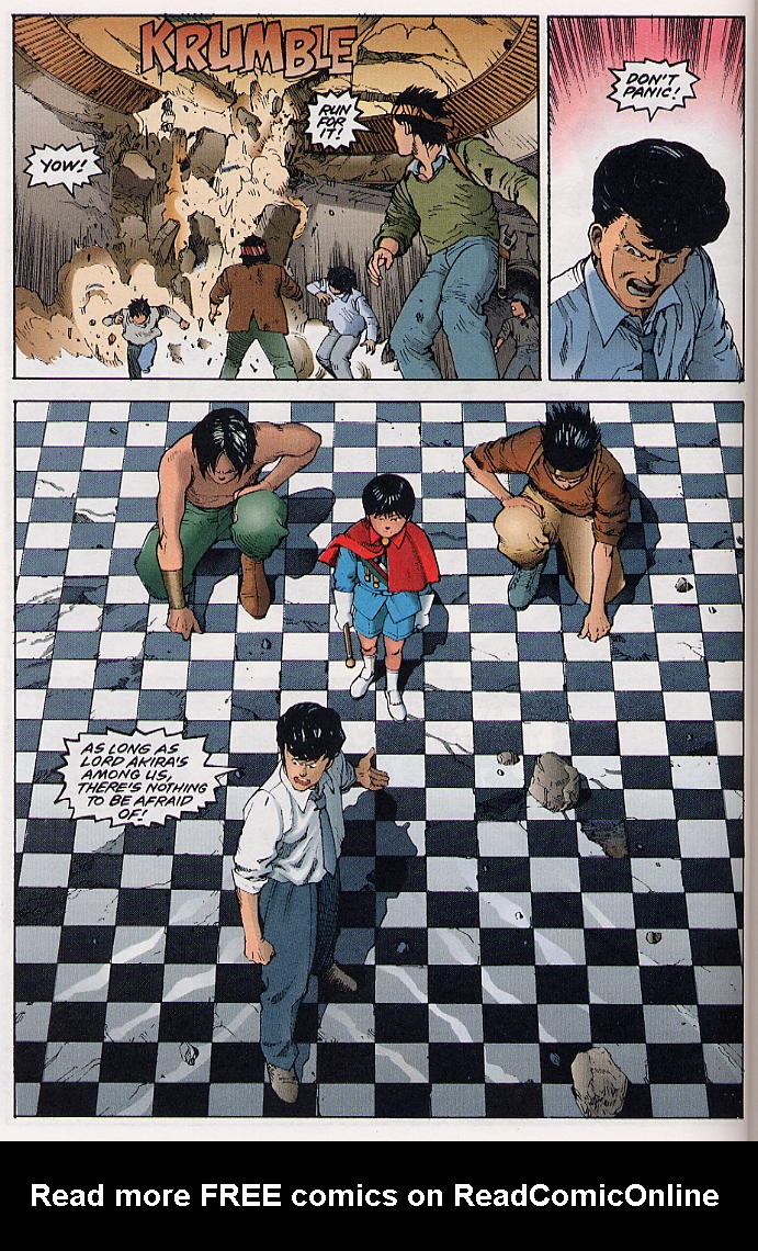 Read online Akira comic -  Issue #31 - 25