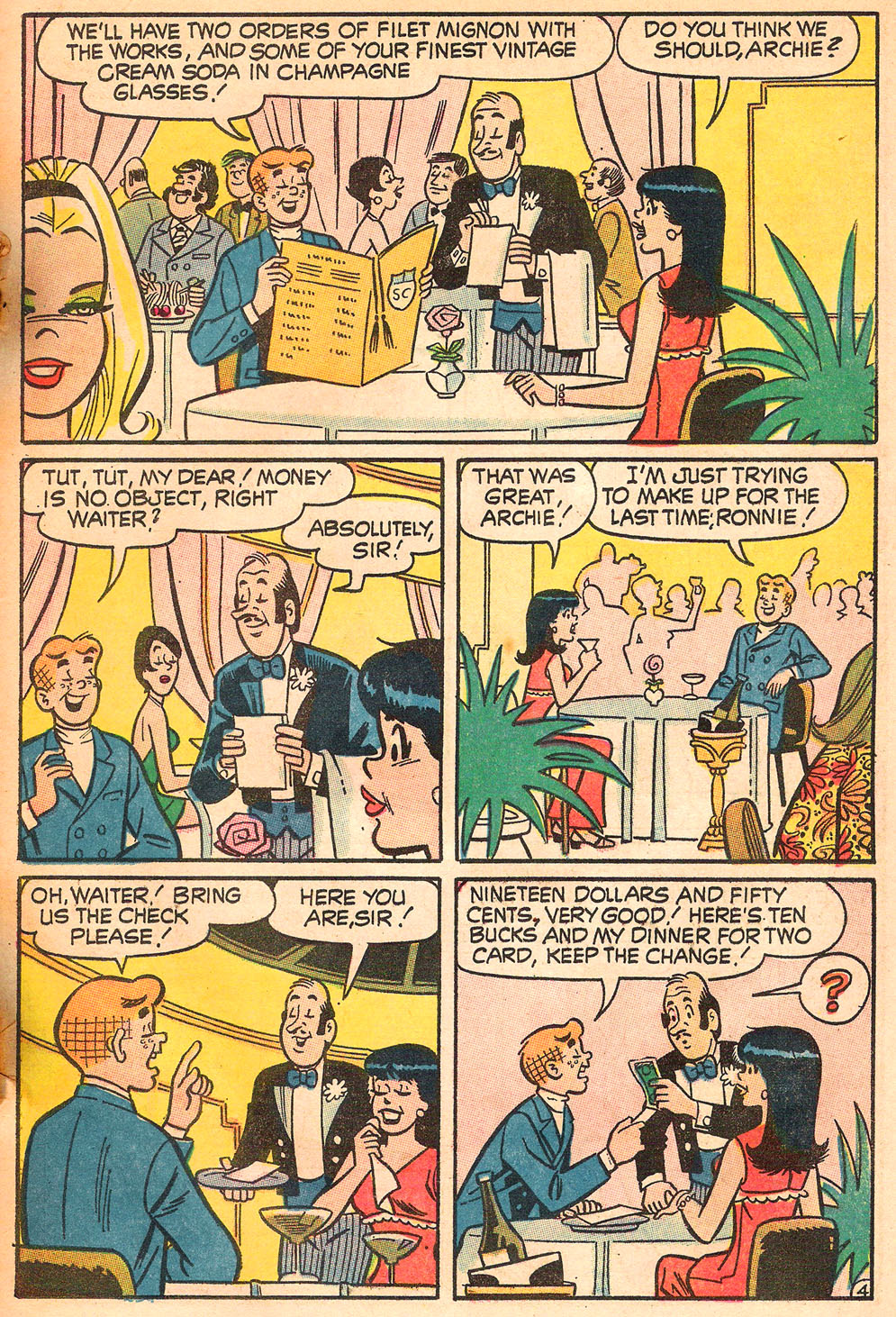 Read online Archie's Girls Betty and Veronica comic -  Issue #185 - 23