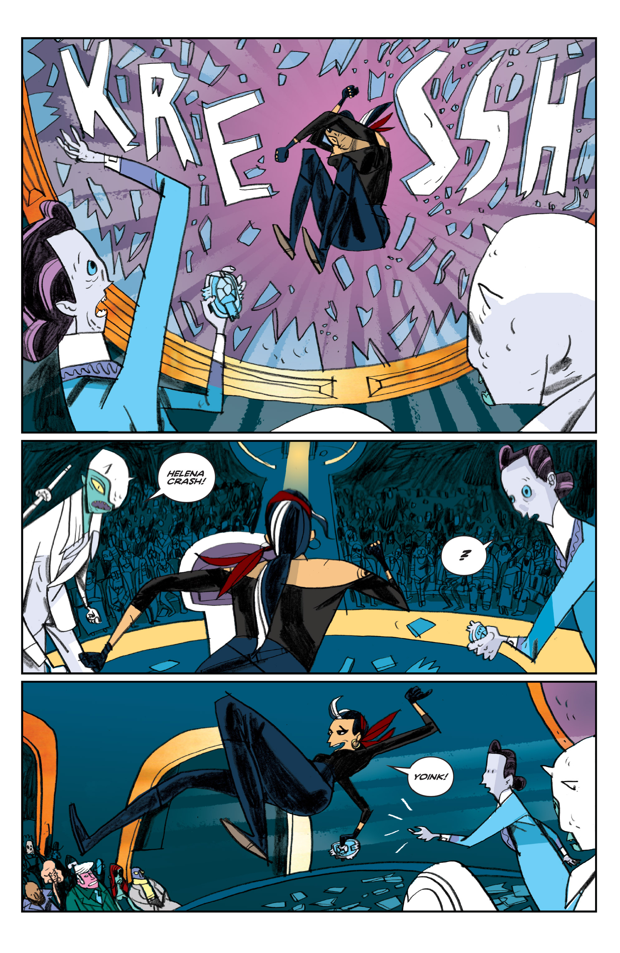 Read online Helena Crash comic -  Issue #4 - 13
