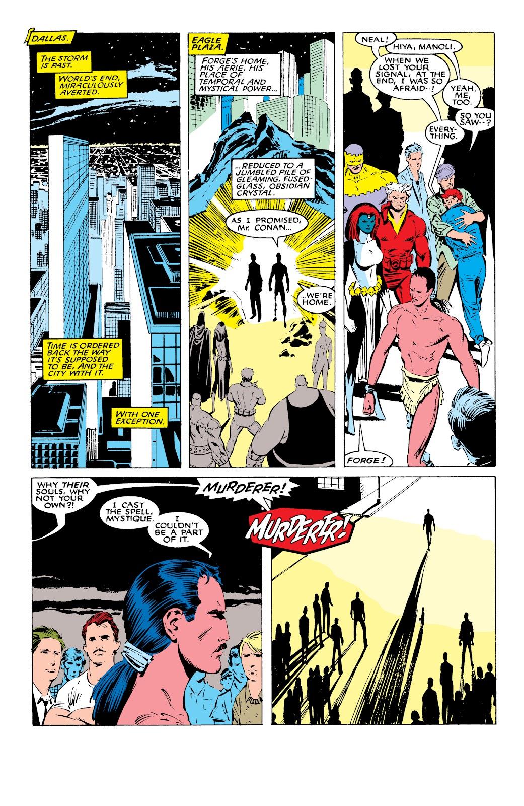 Read online X-Men Milestones: Fall of the Mutants comic -  Issue # TPB (Part 1) - 88