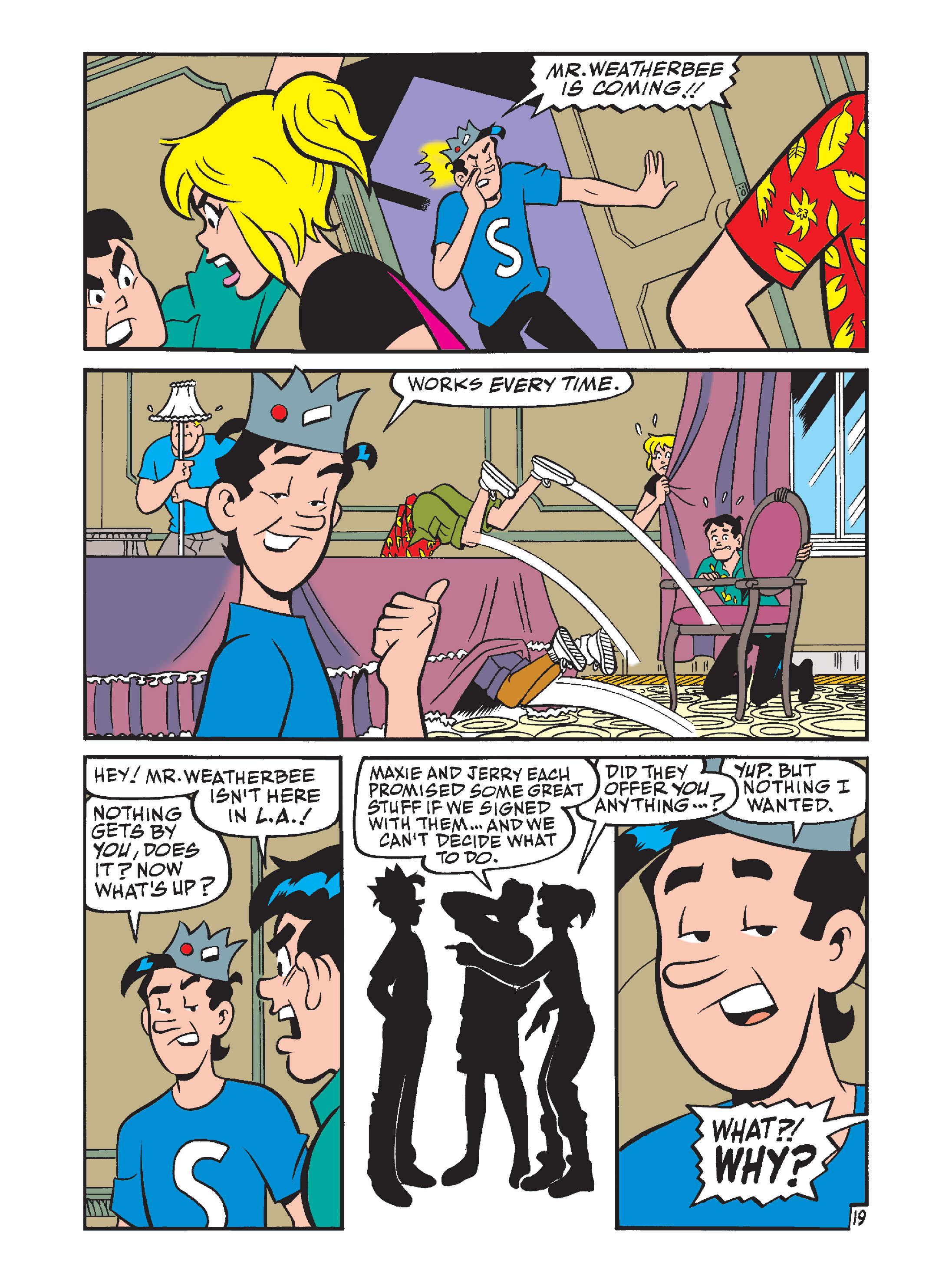 Read online Archie's Funhouse Double Digest comic -  Issue #7 - 54