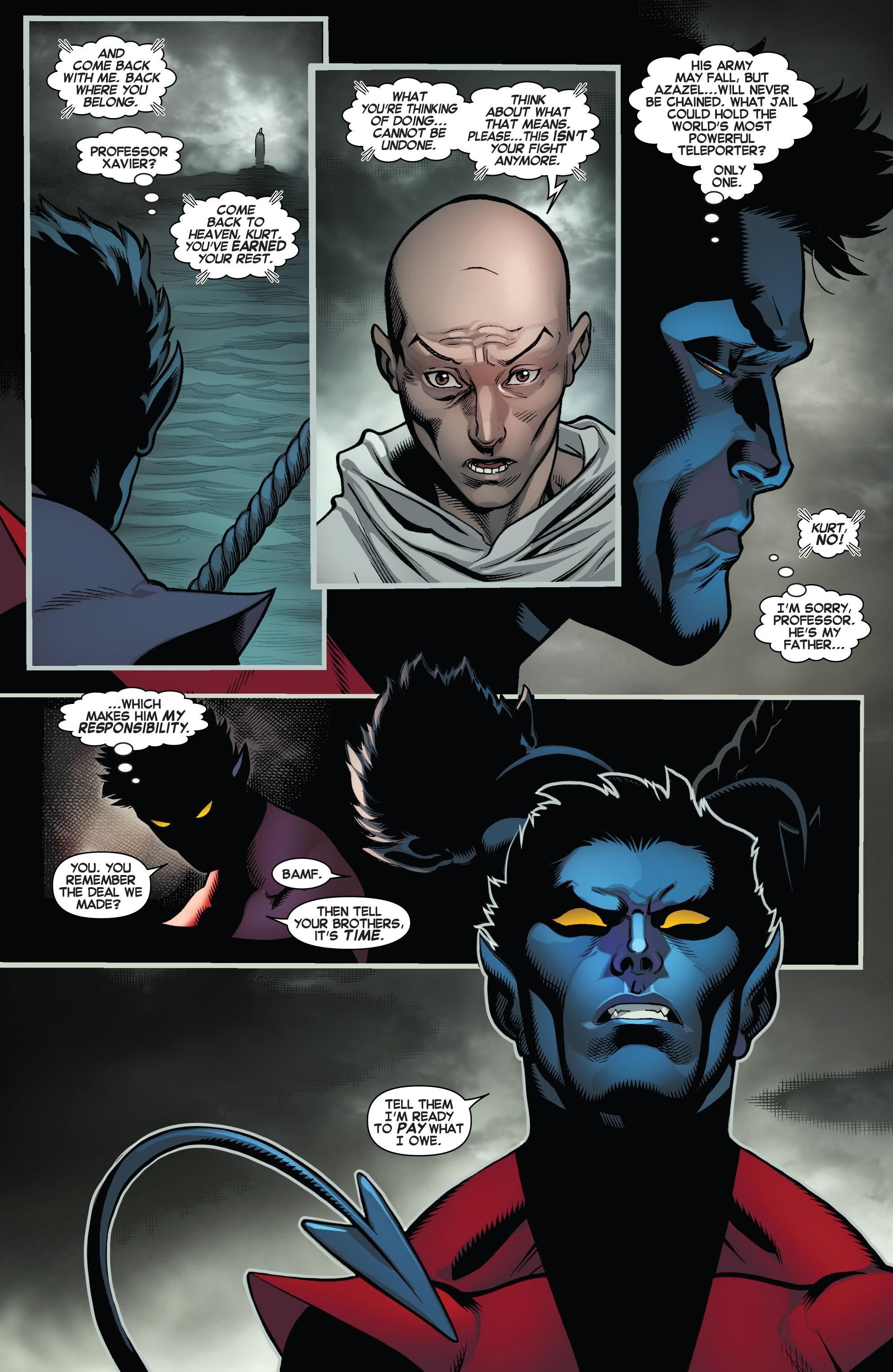 Read online Amazing X-Men (2014) comic -  Issue #5 - 12