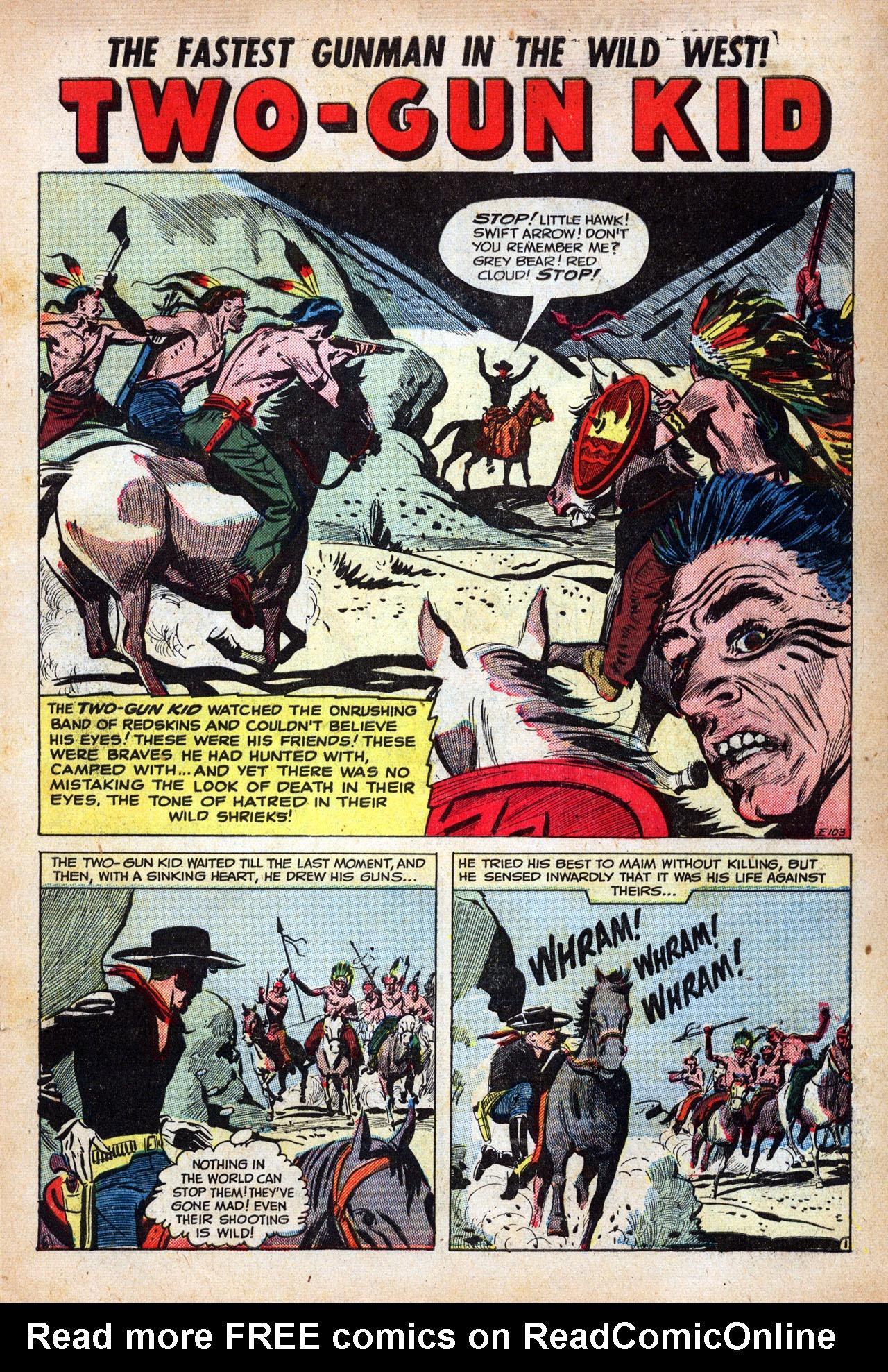 Read online Two-Gun Kid comic -  Issue #14 - 3