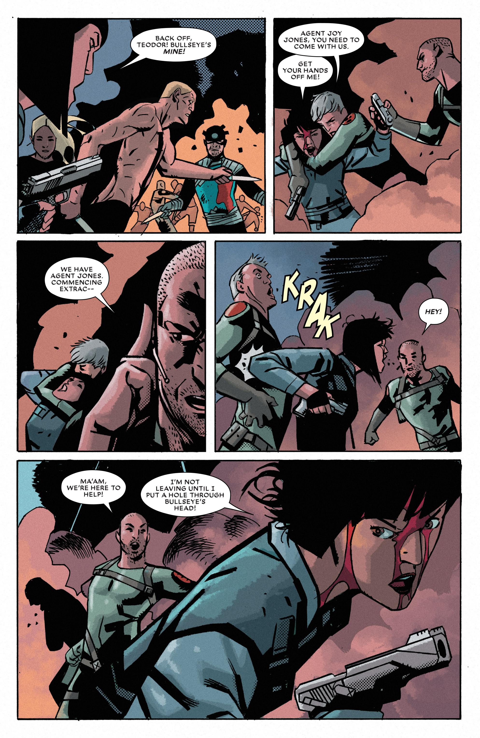 Read online Bullseye comic -  Issue #5 - 7