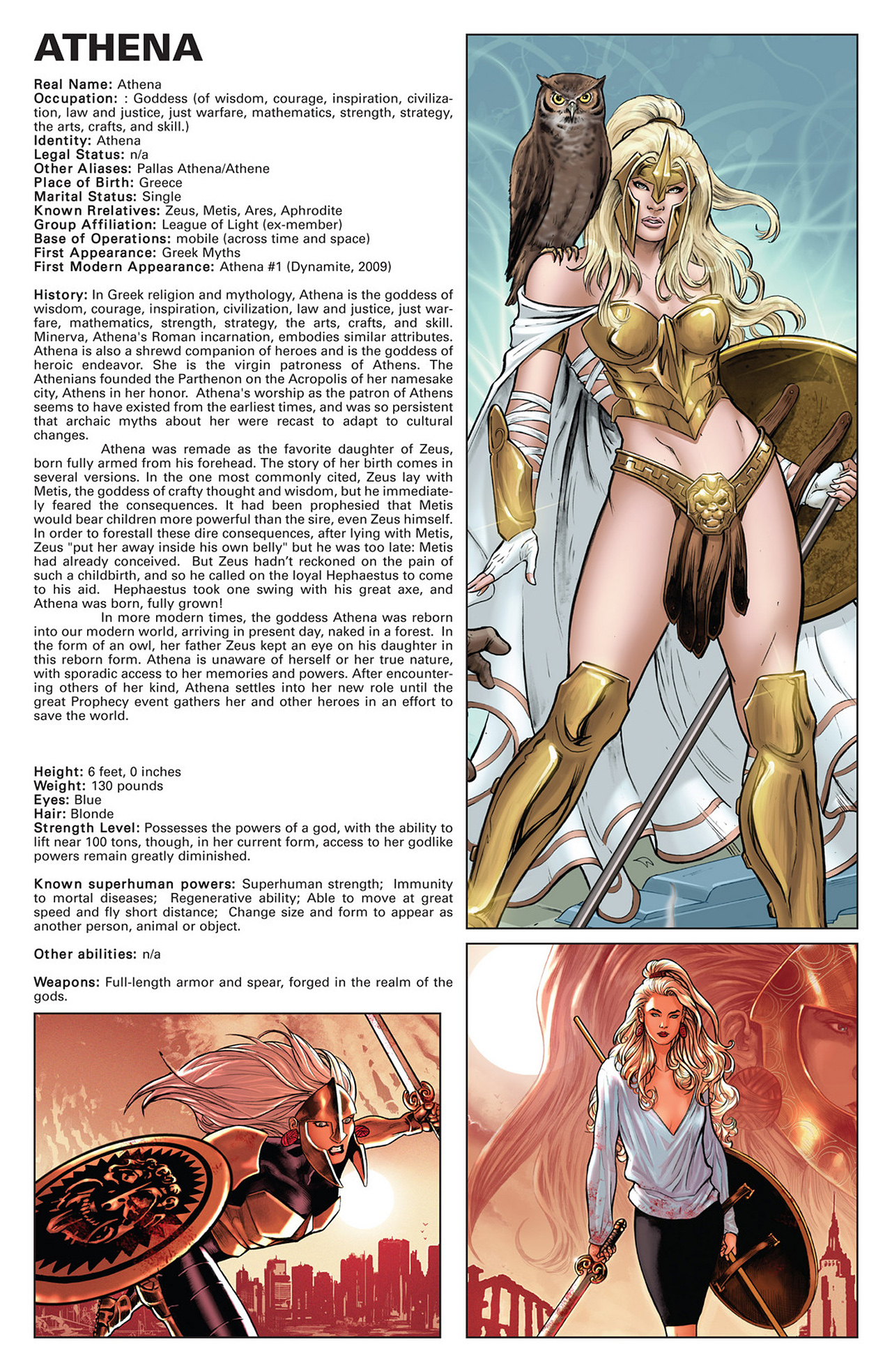 Read online Prophecy comic -  Issue #5 - 22