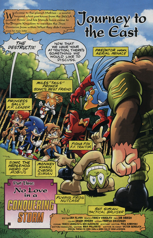 Read online Sonic Universe comic -  Issue #15 - 2