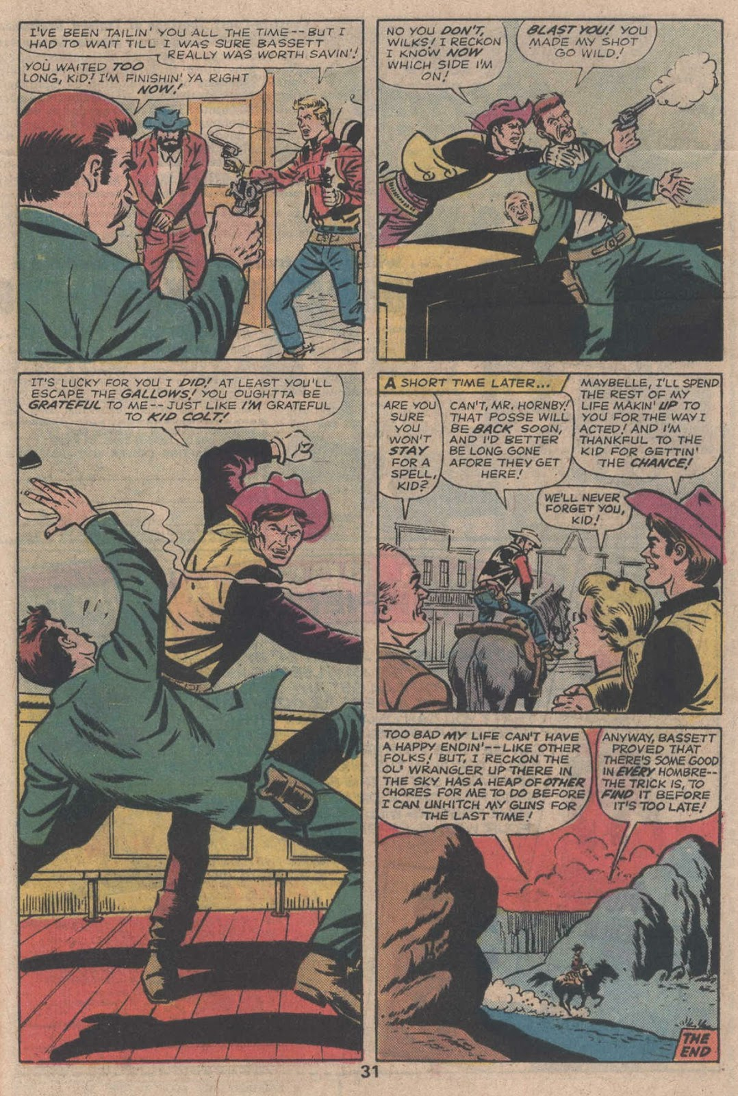 Kid Colt Outlaw issue 195 - Page 33
