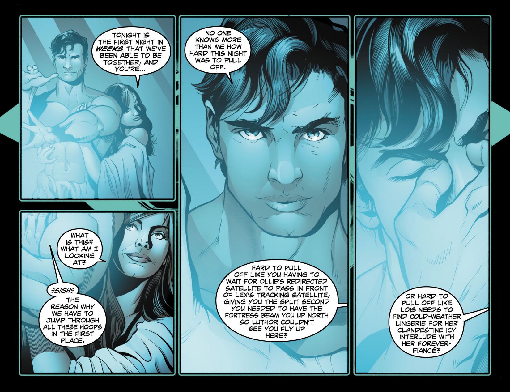 Read online Smallville: Season 11 comic -  Issue #13 - 4