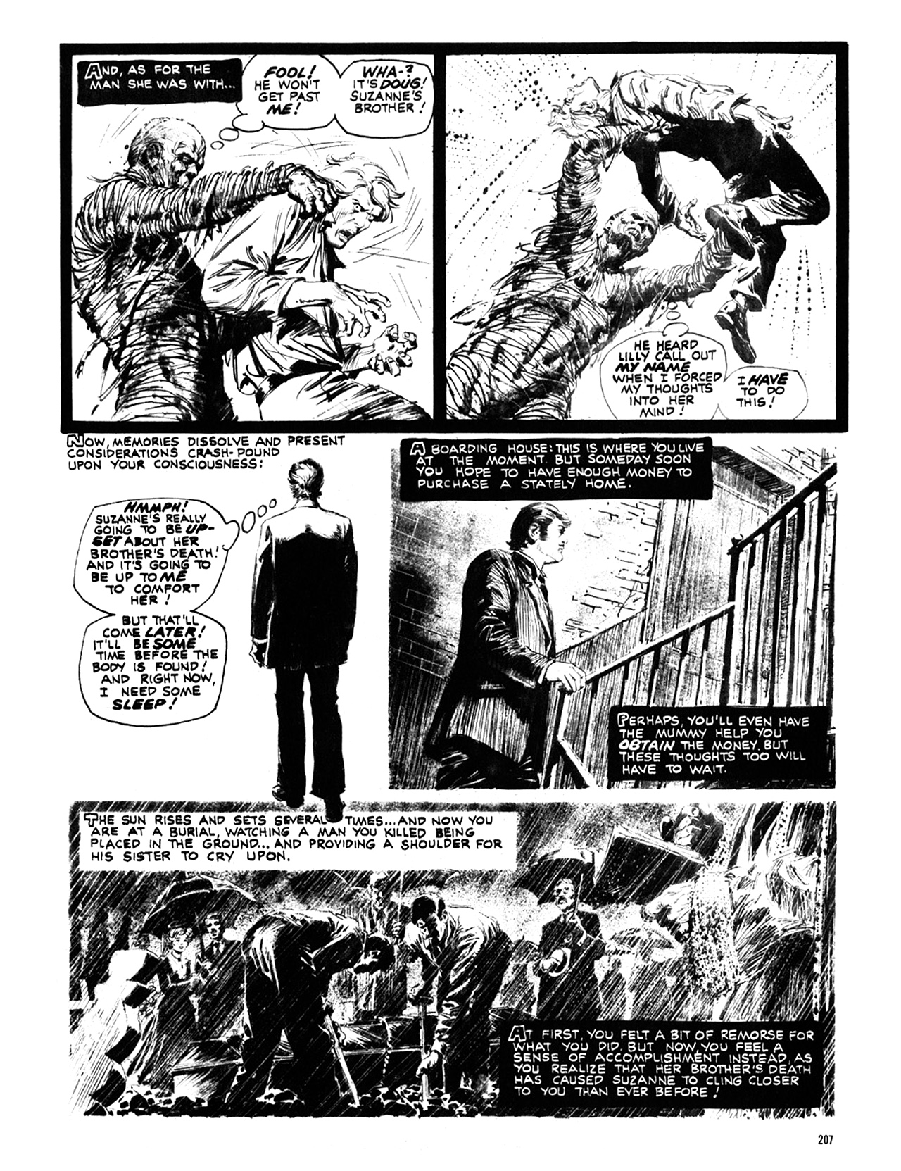 Read online Eerie Archives comic -  Issue # TPB 10 - 208