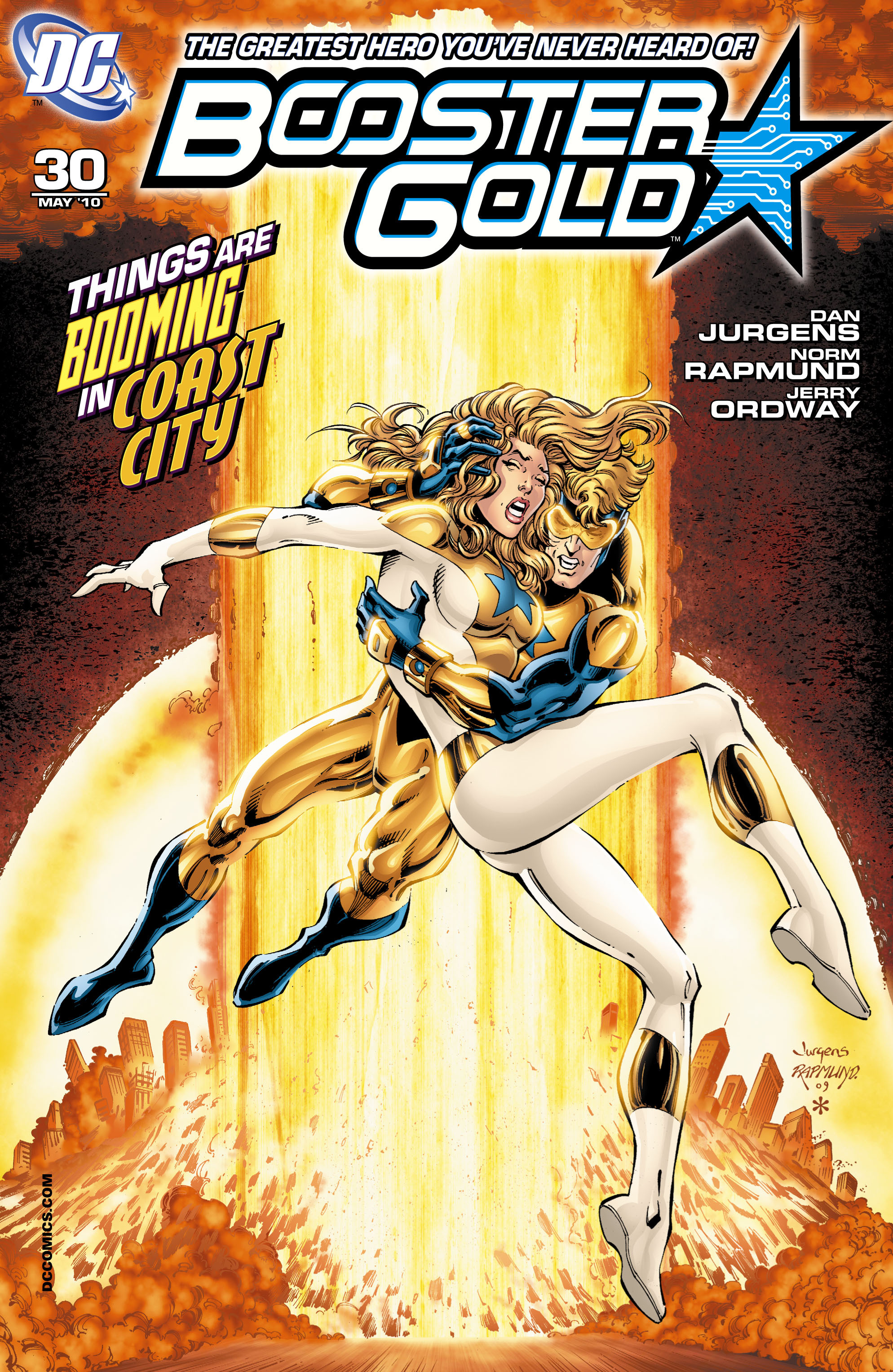 Booster Gold 2007 Issue 30