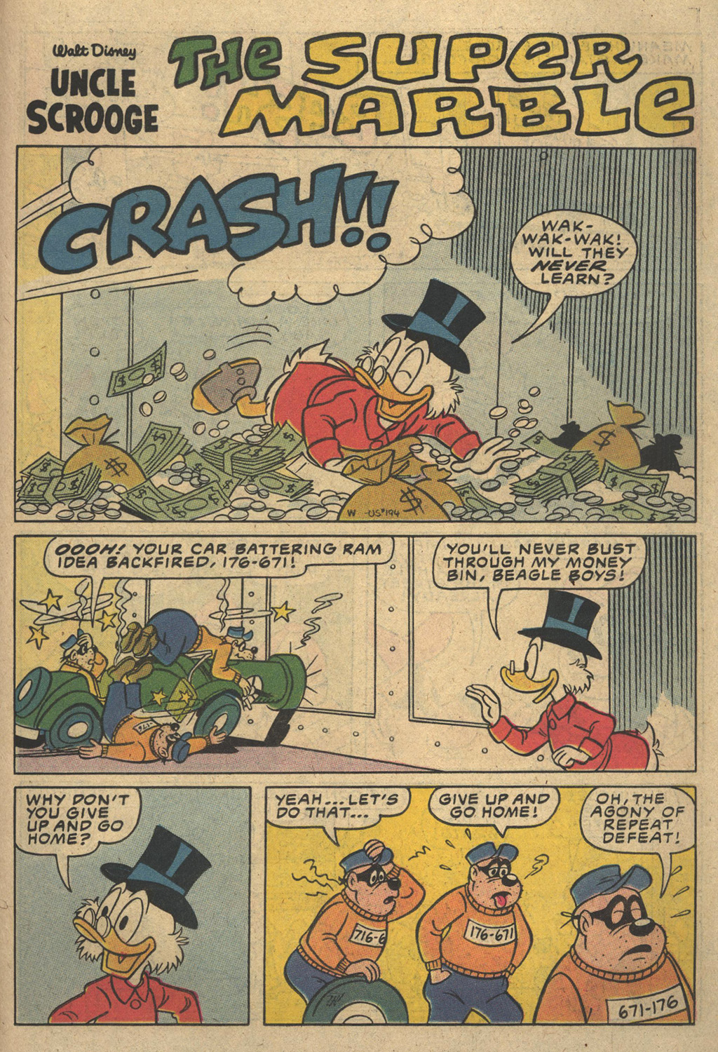 Read online Uncle Scrooge (1953) comic -  Issue #194 - 23