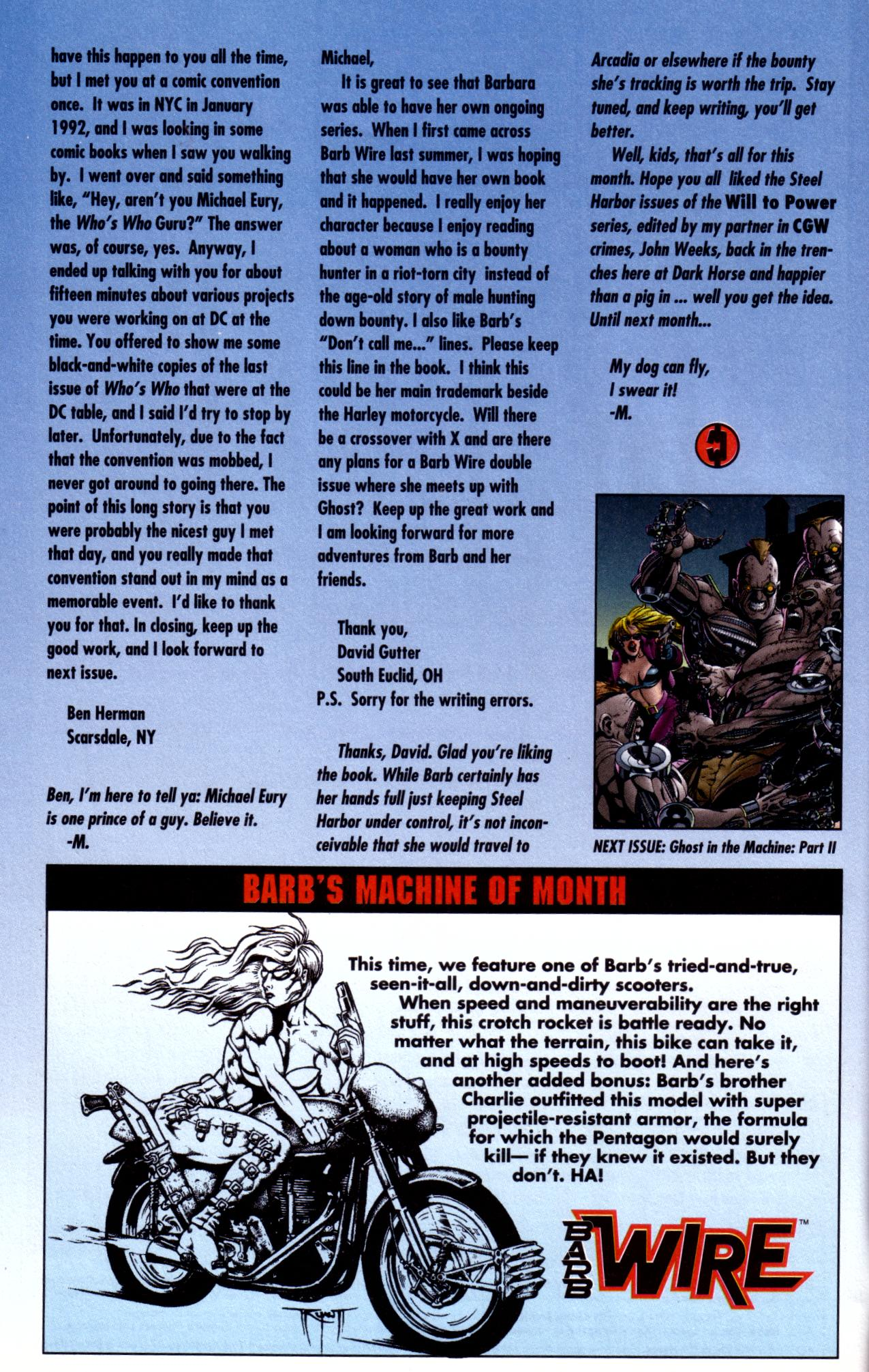 Barb Wire (1994) issue 4 - Page 25
