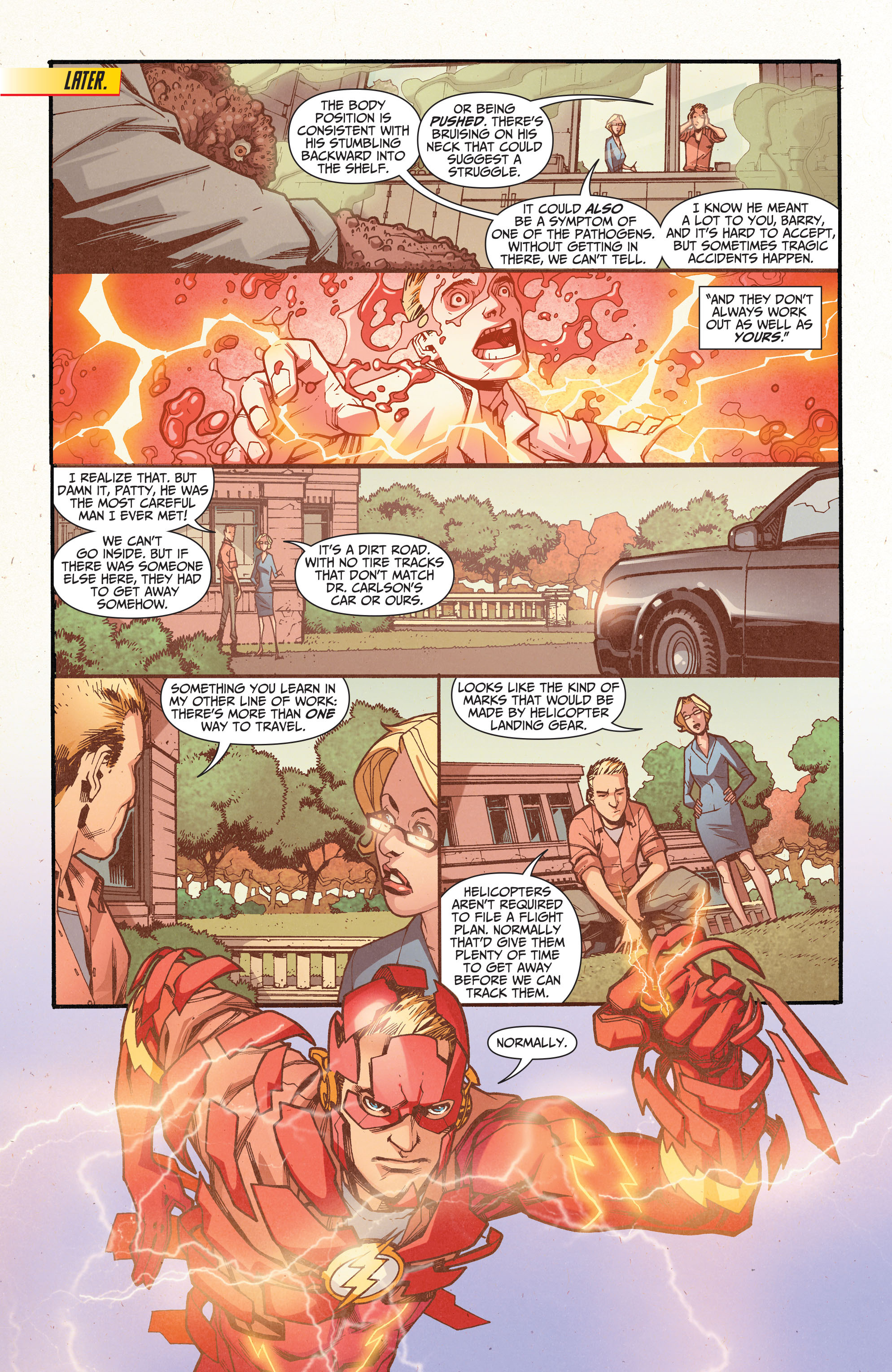 Read online The Flash (2011) comic -  Issue # _TPB 5 - 50