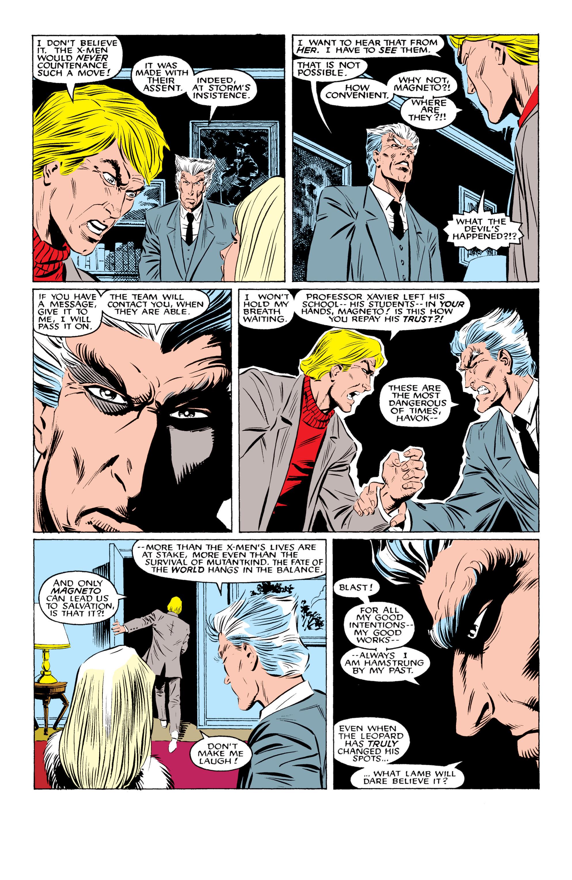 Read online Uncanny X-Men (1963) comic -  Issue #219 - 12