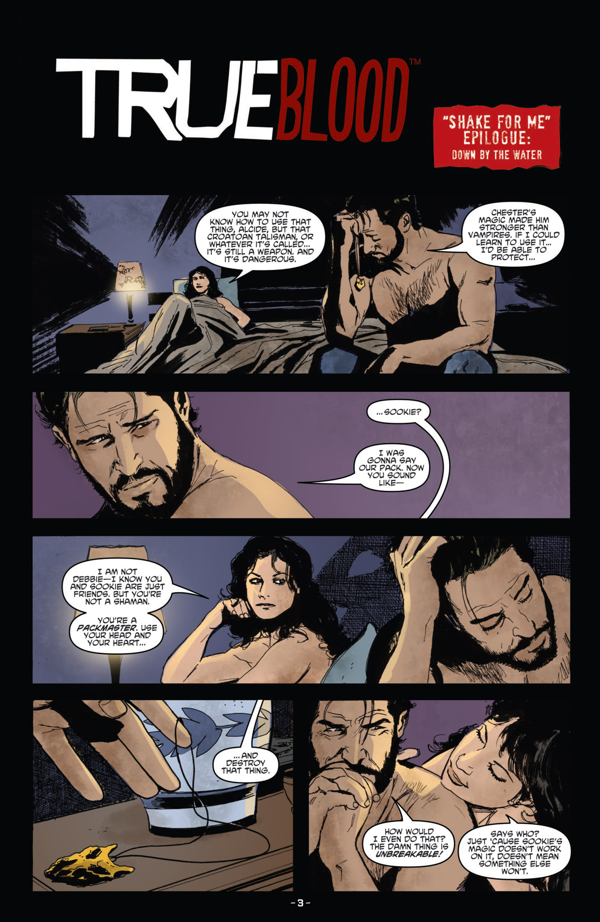 Read online True Blood (2012) comic -  Issue #10 - 5