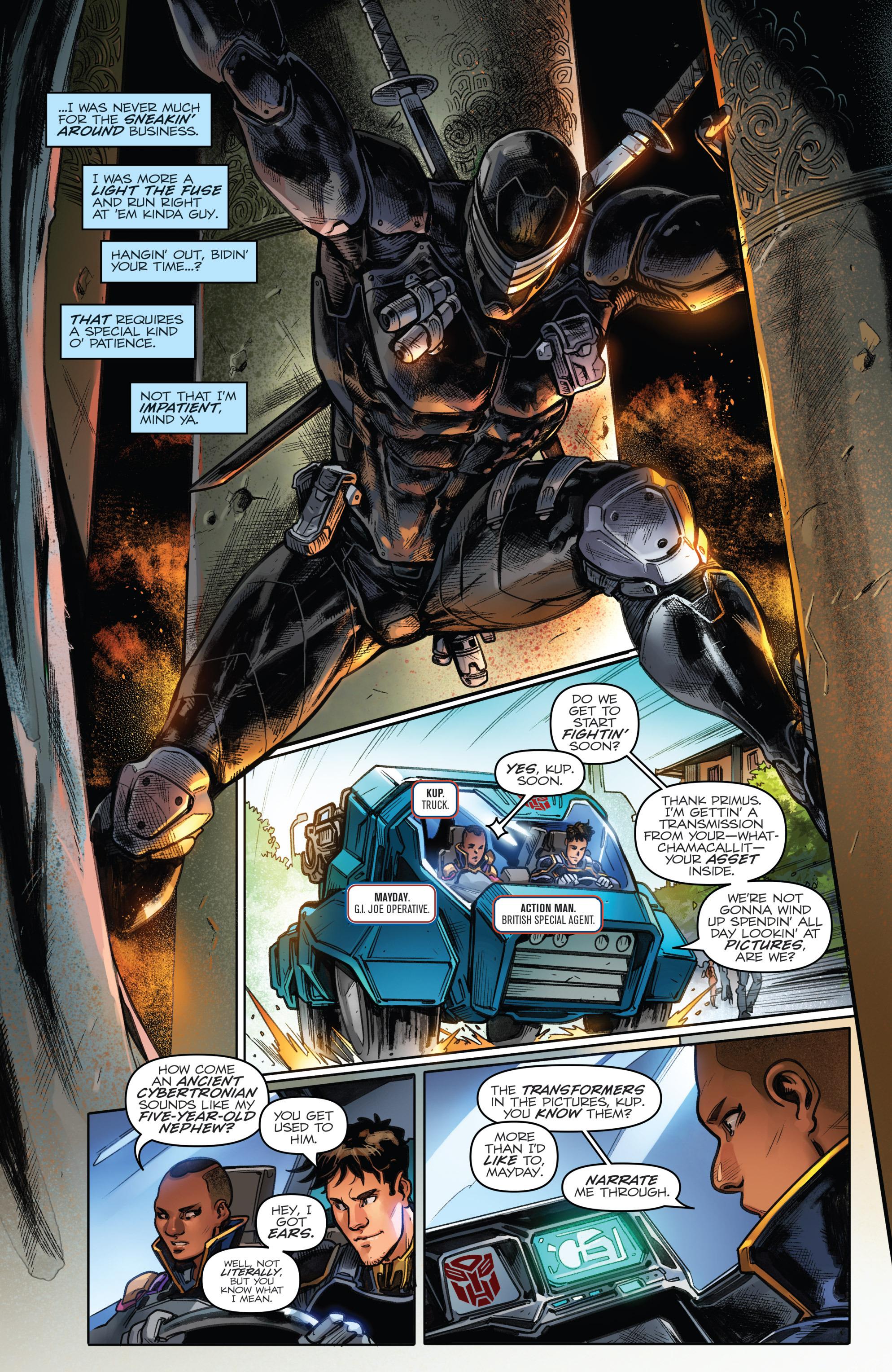 Read online Revolutionaries comic -  Issue #4 - 7