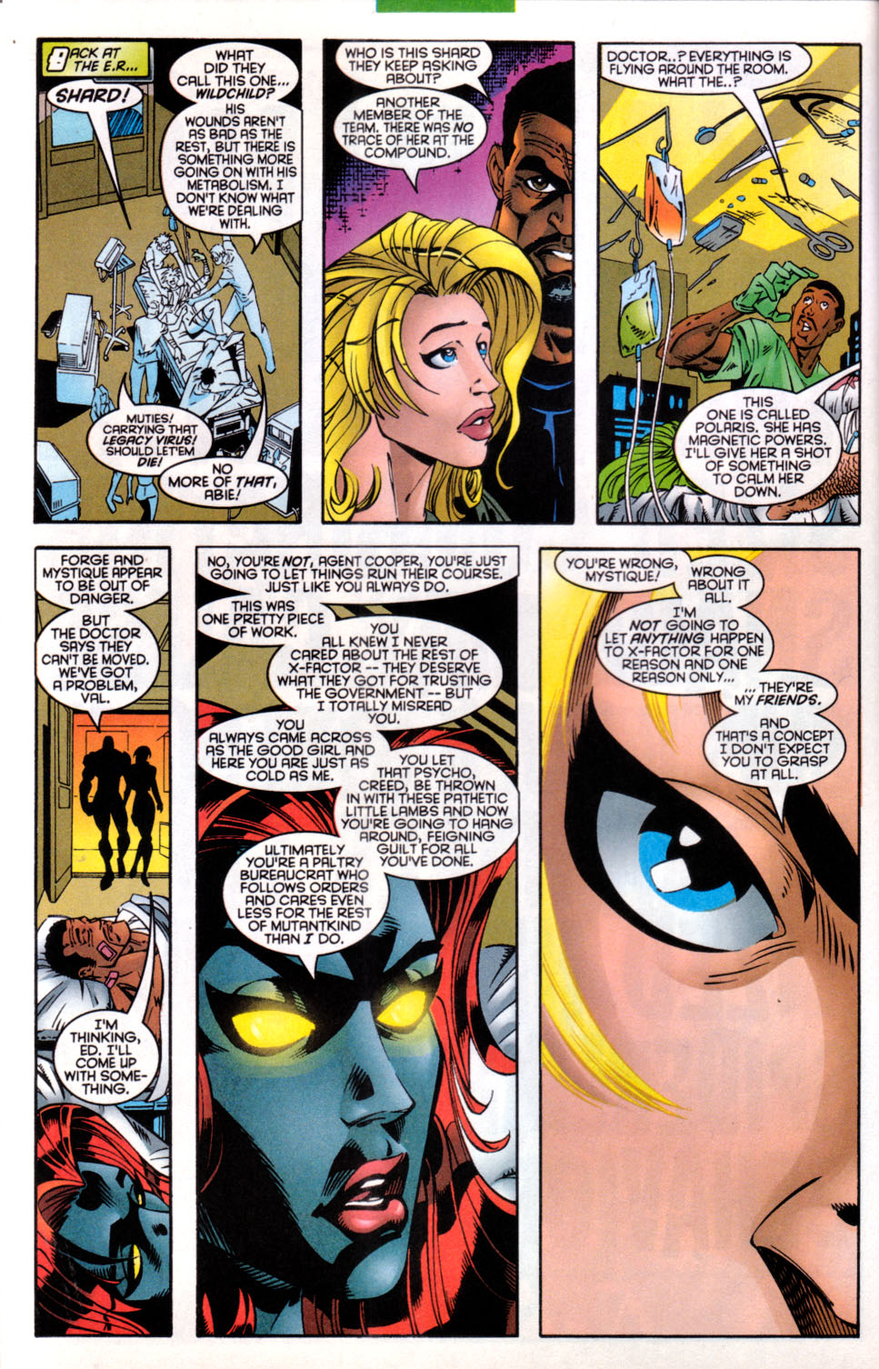 Read online X-Factor (1986) comic -  Issue #137 - 10