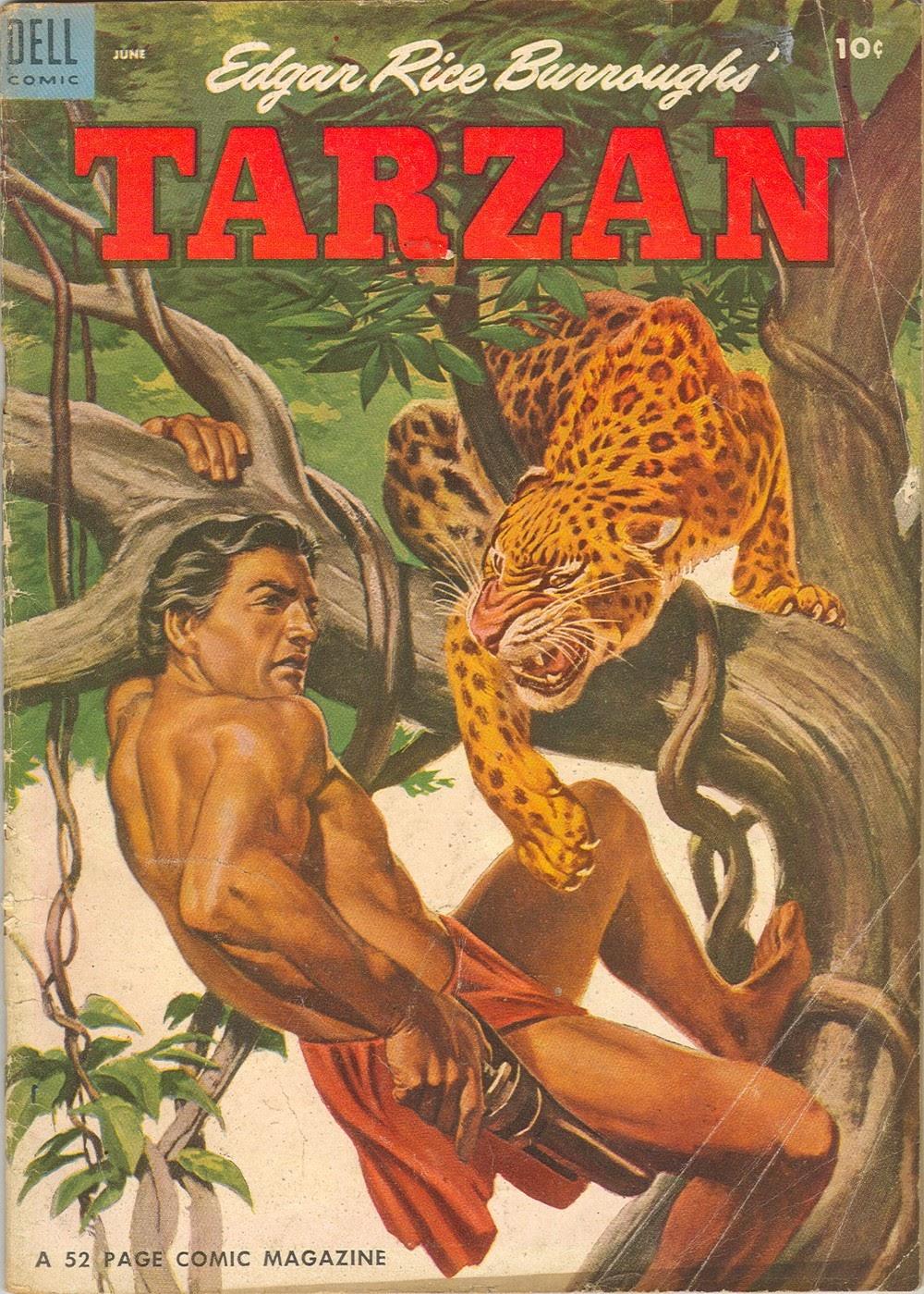 Tarzan (1948) issue 57 - Page 1