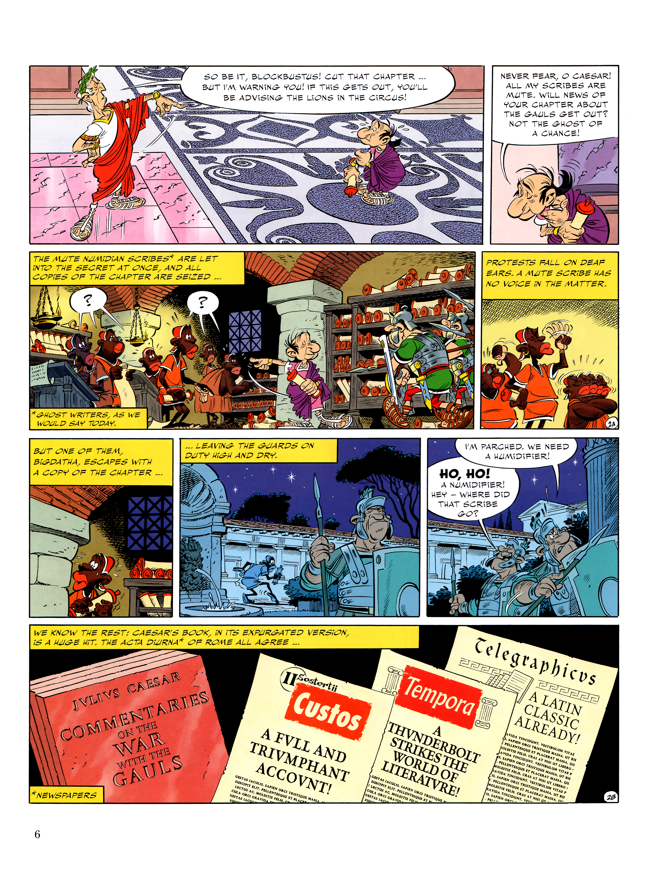 Read online Asterix comic -  Issue #36 - 7