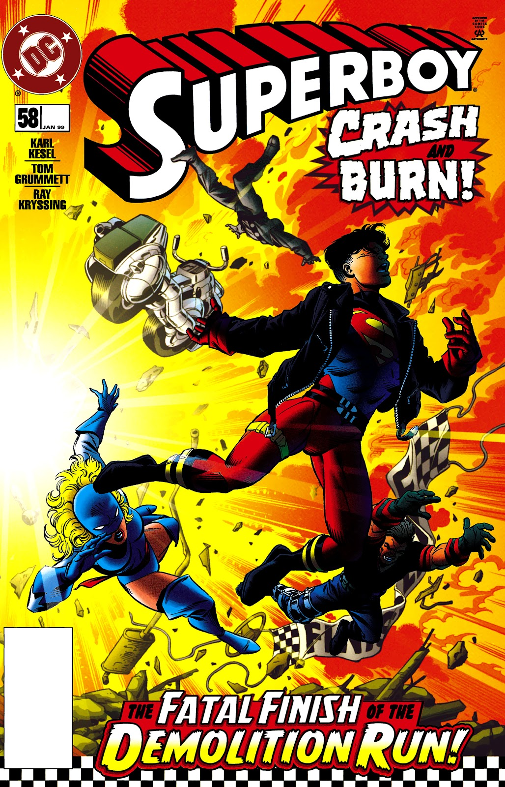 Superboy (1994) 58 Page 1
