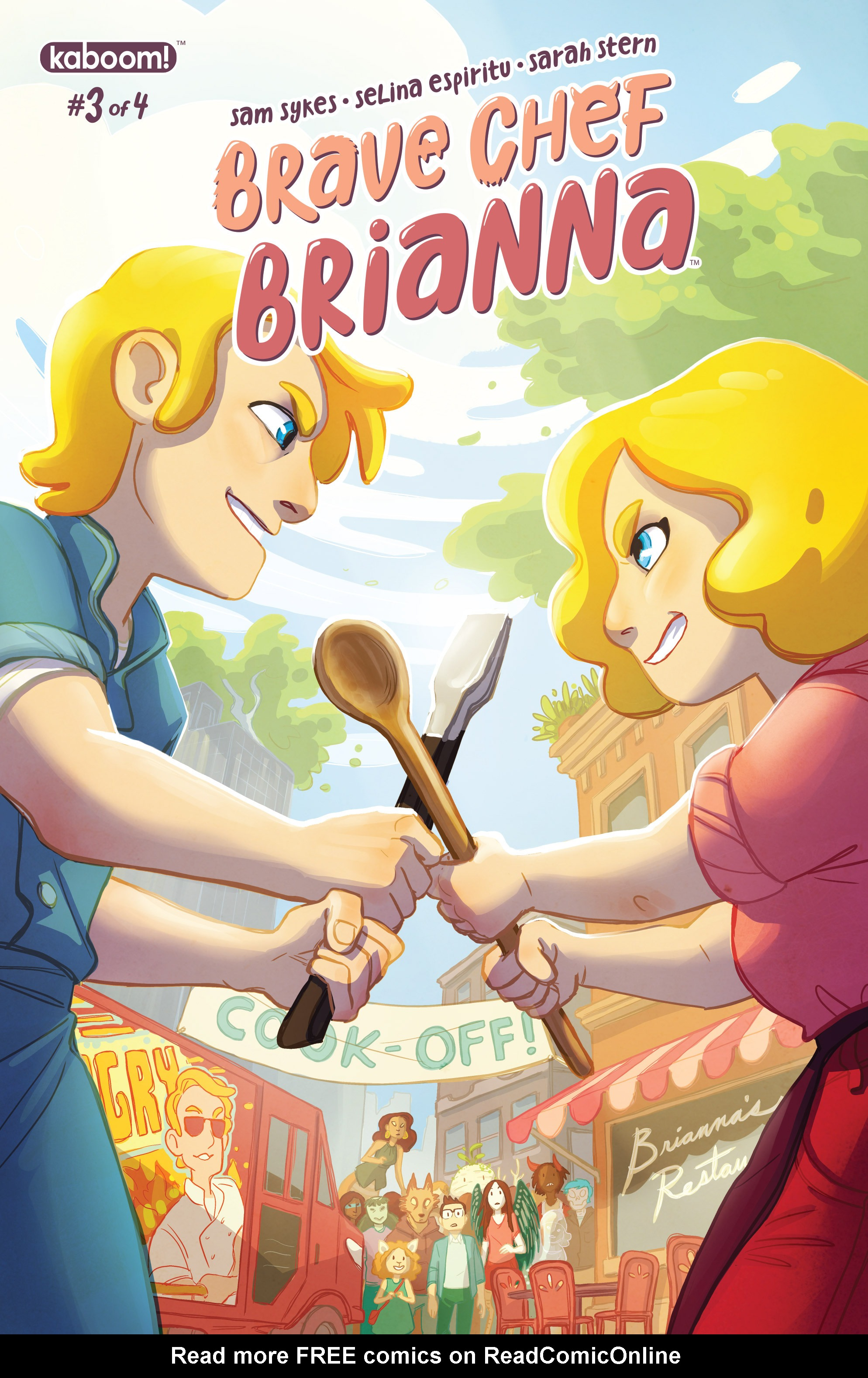 Read online Brave Chef Brianna comic -  Issue #3 - 1