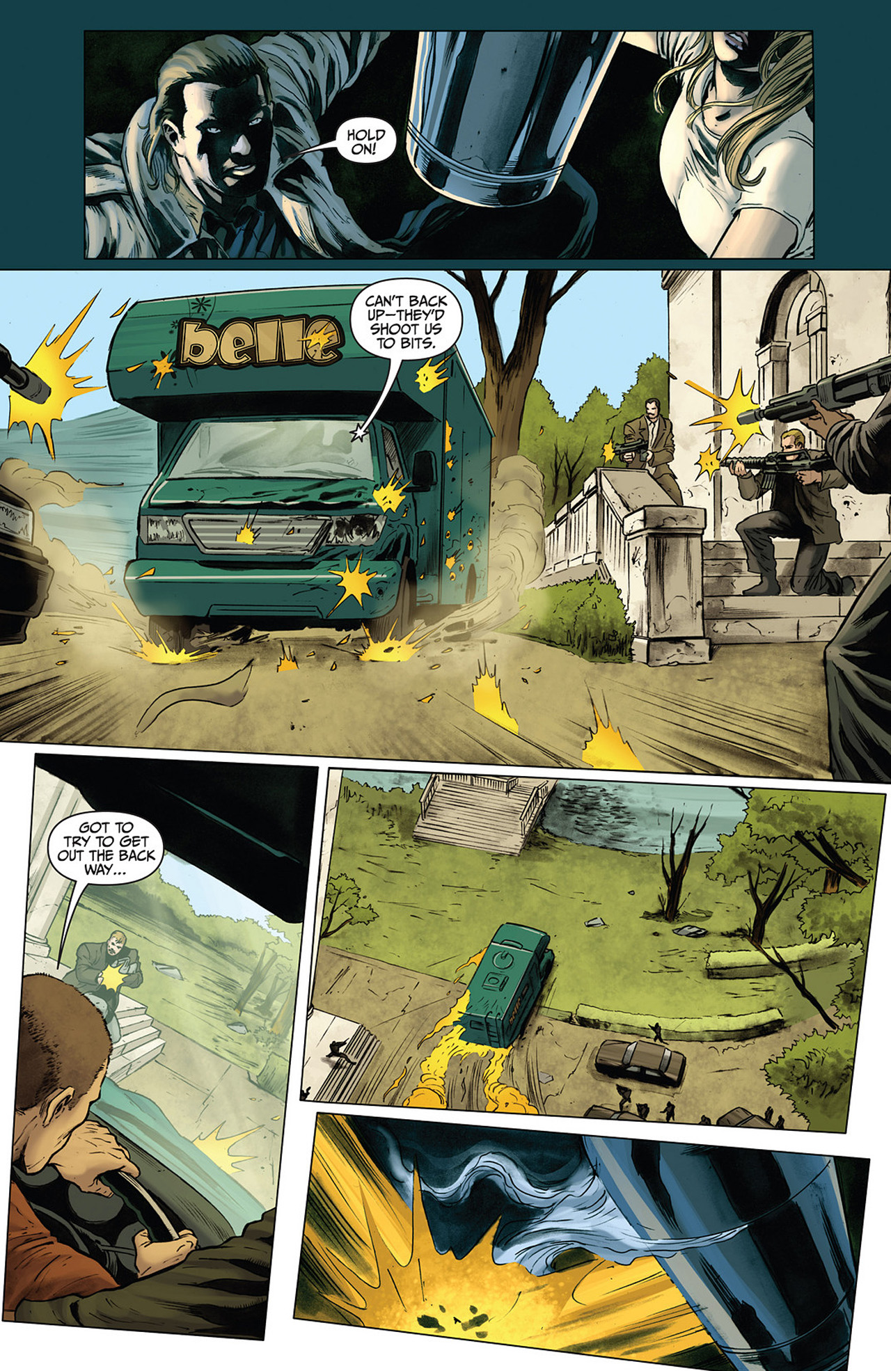 Read online Athena comic -  Issue #3 - 25