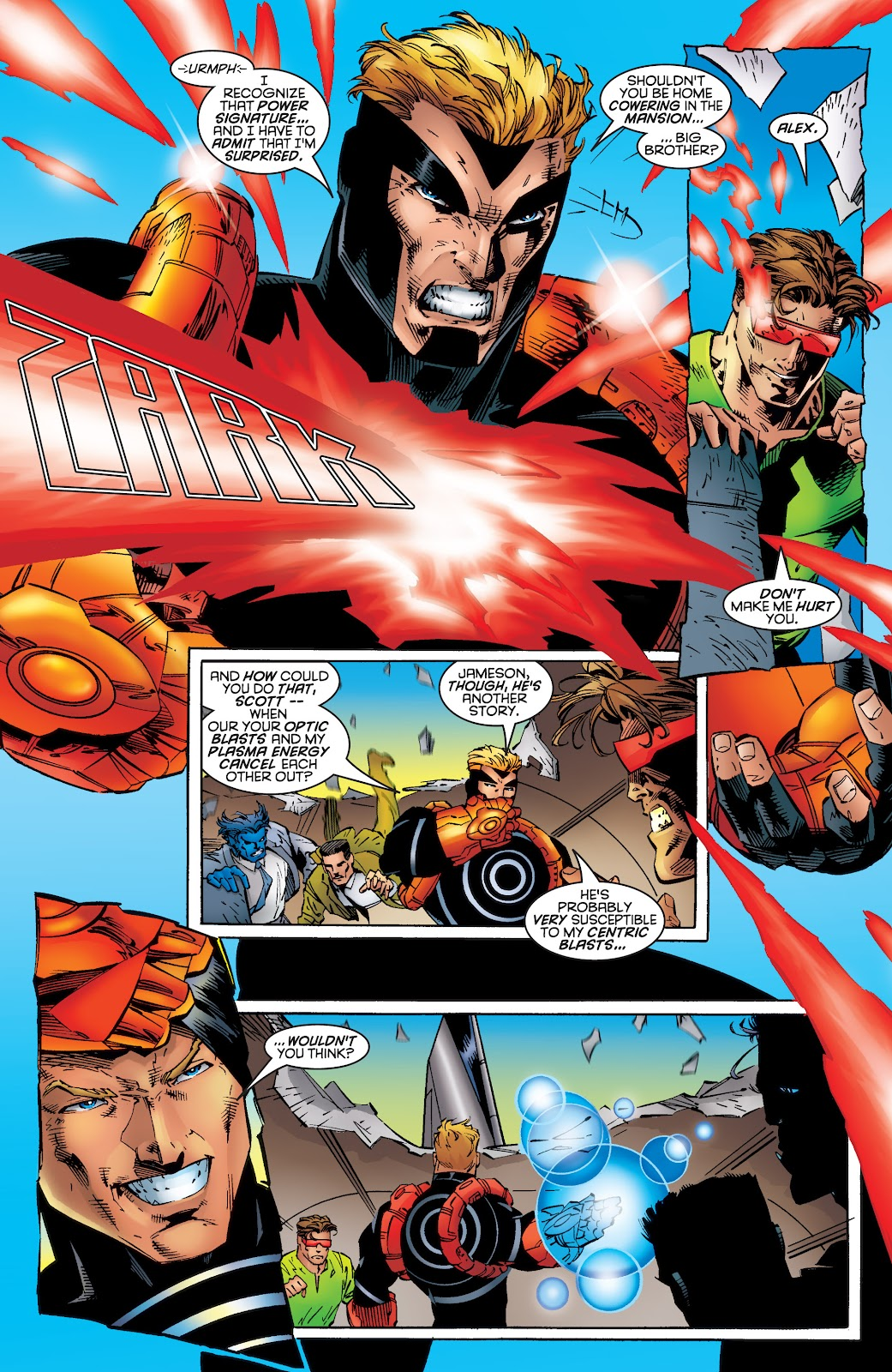 Uncanny X-Men (1963) issue 339 - Page 14