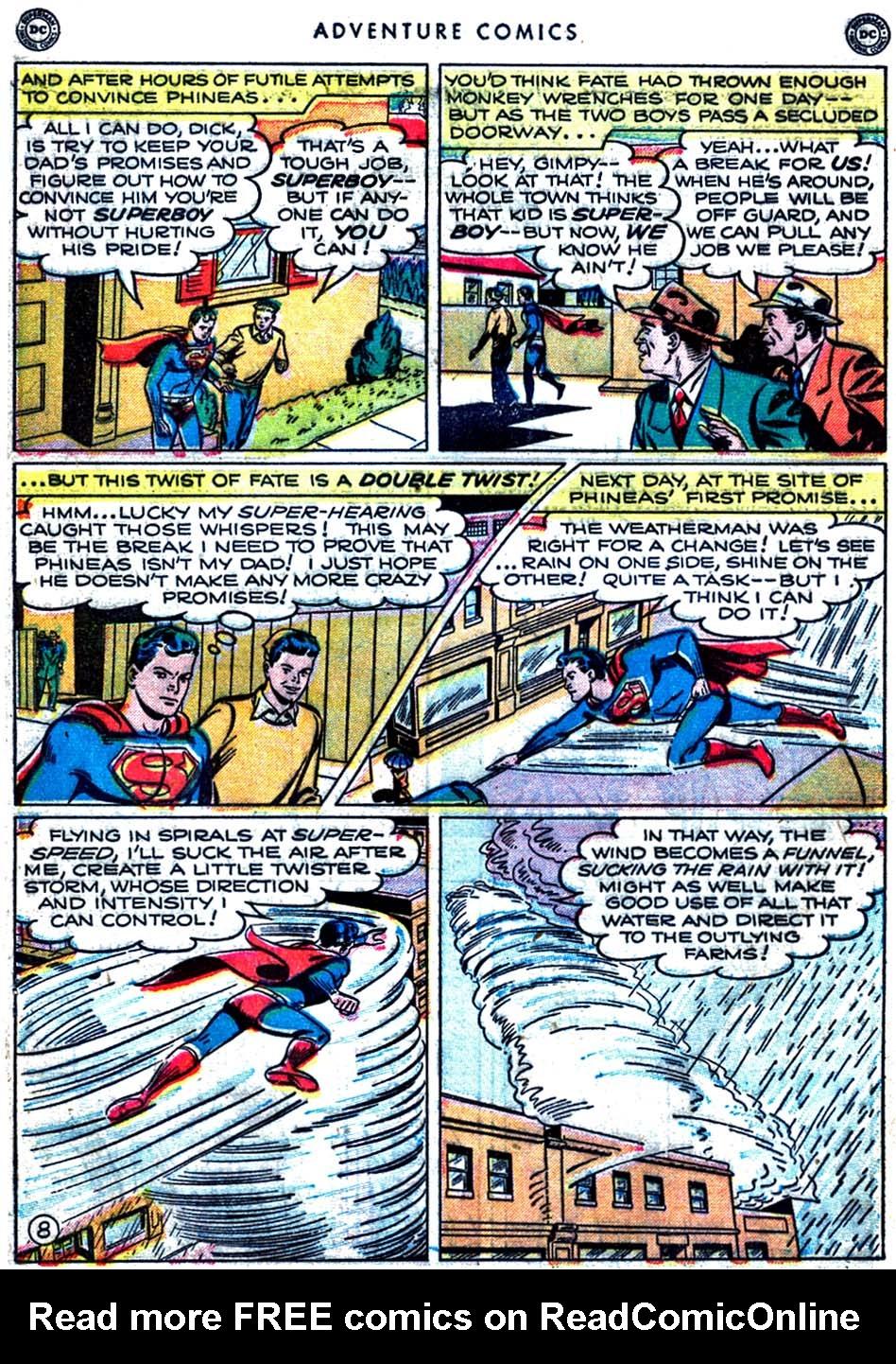 Read online Adventure Comics (1938) comic -  Issue #163 - 10