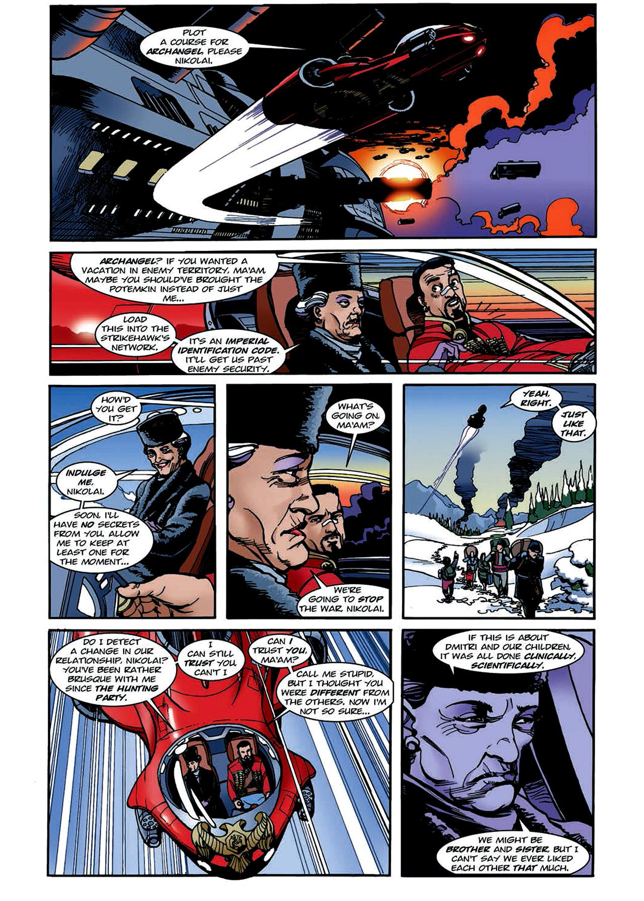 Read online Nikolai Dante comic -  Issue # TPB 4 - 118